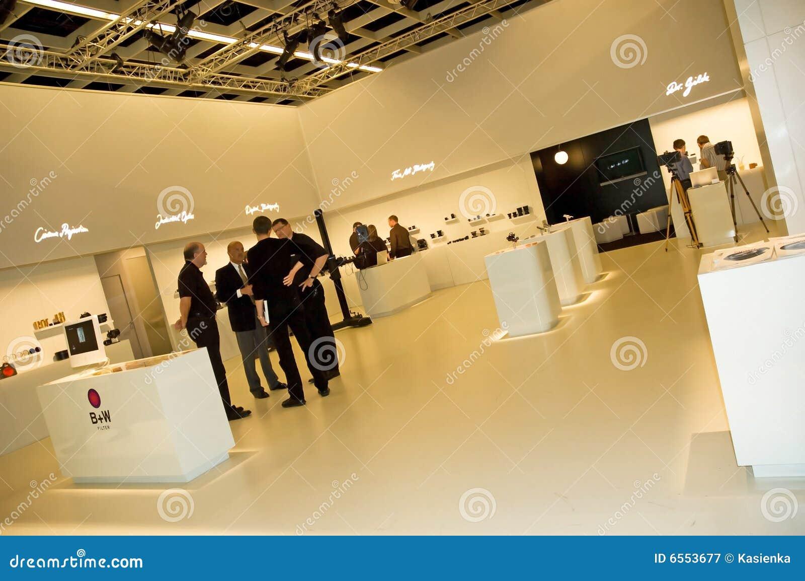Interiore elegante di mostra