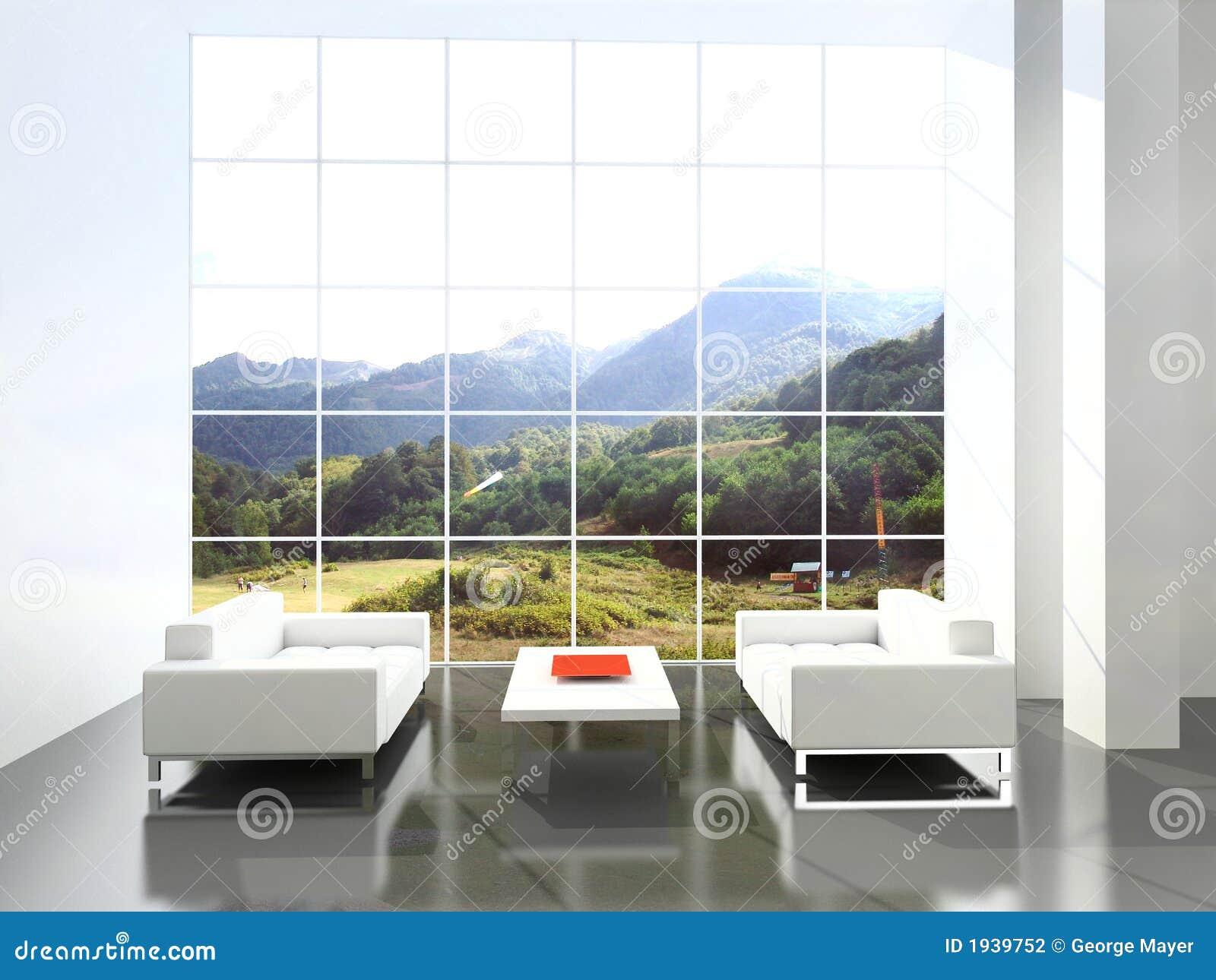 Interiore moderno.