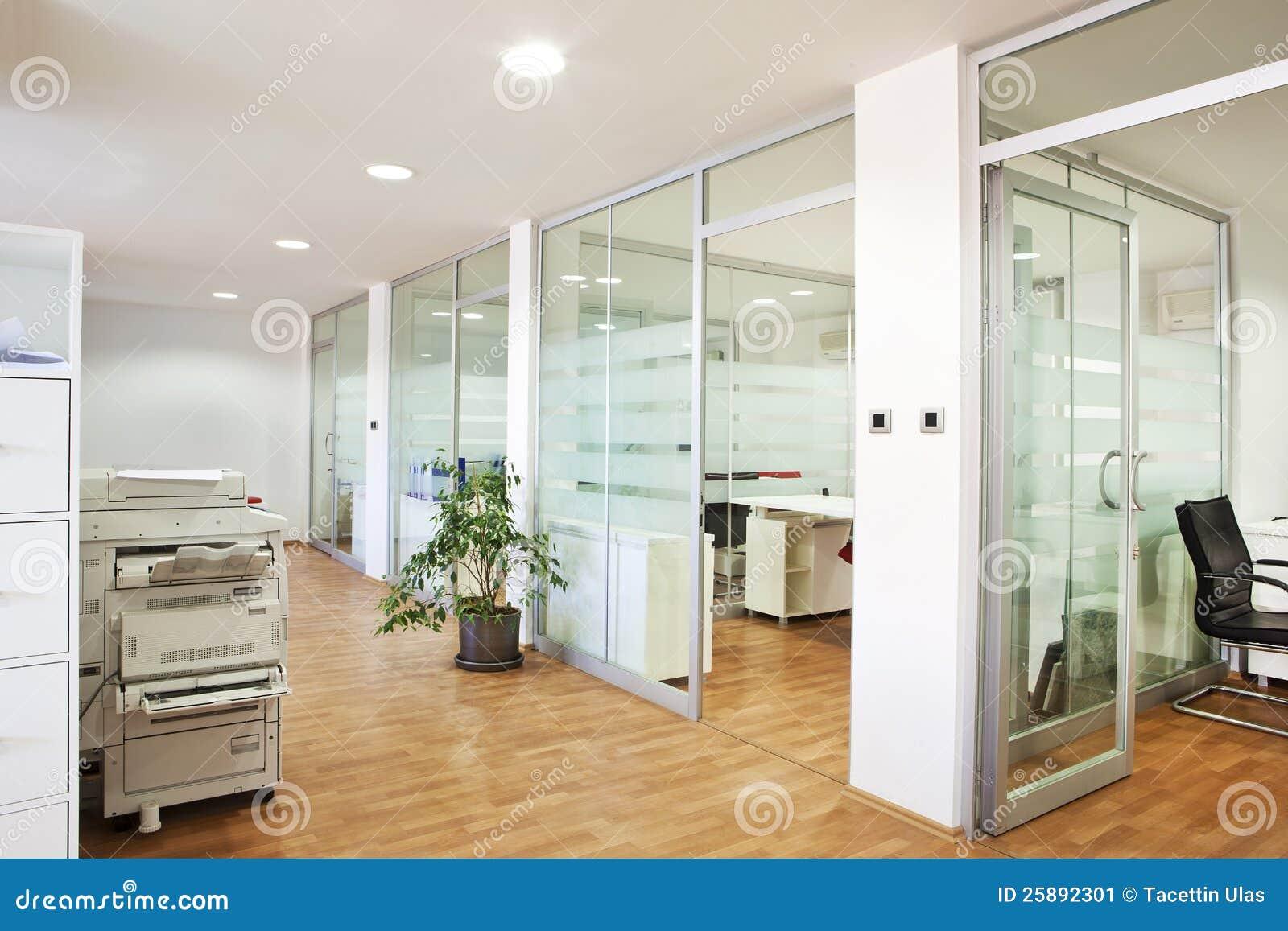 Interiore moderno dell ufficio