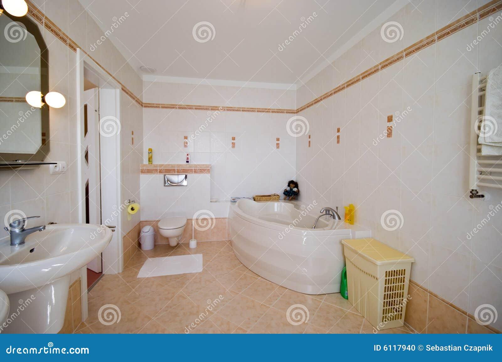 Interiore moderno della stanza da bagno fotografia stock - Stanze da bagno moderne ...