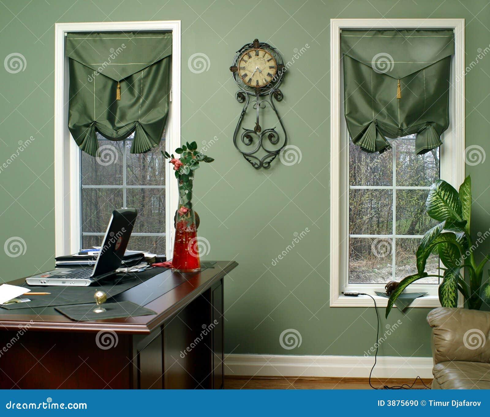 Interiore nel verde