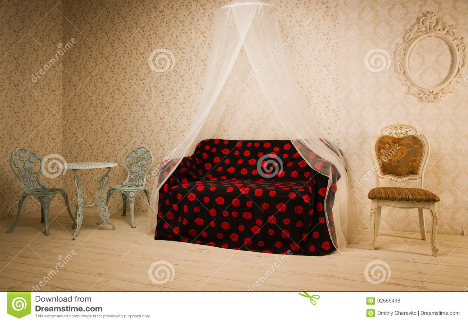 Interiore nello stile dell annata