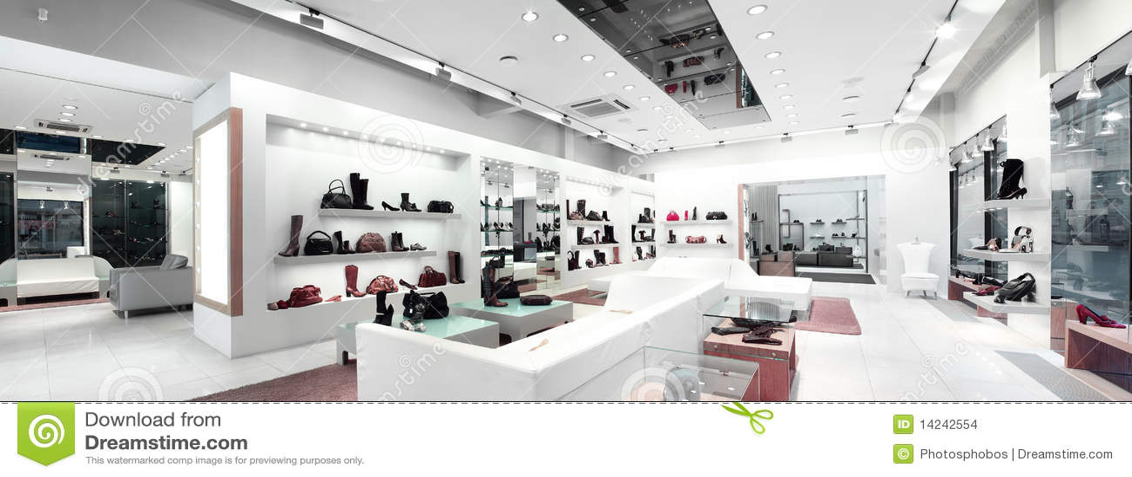 Interioren shoppar
