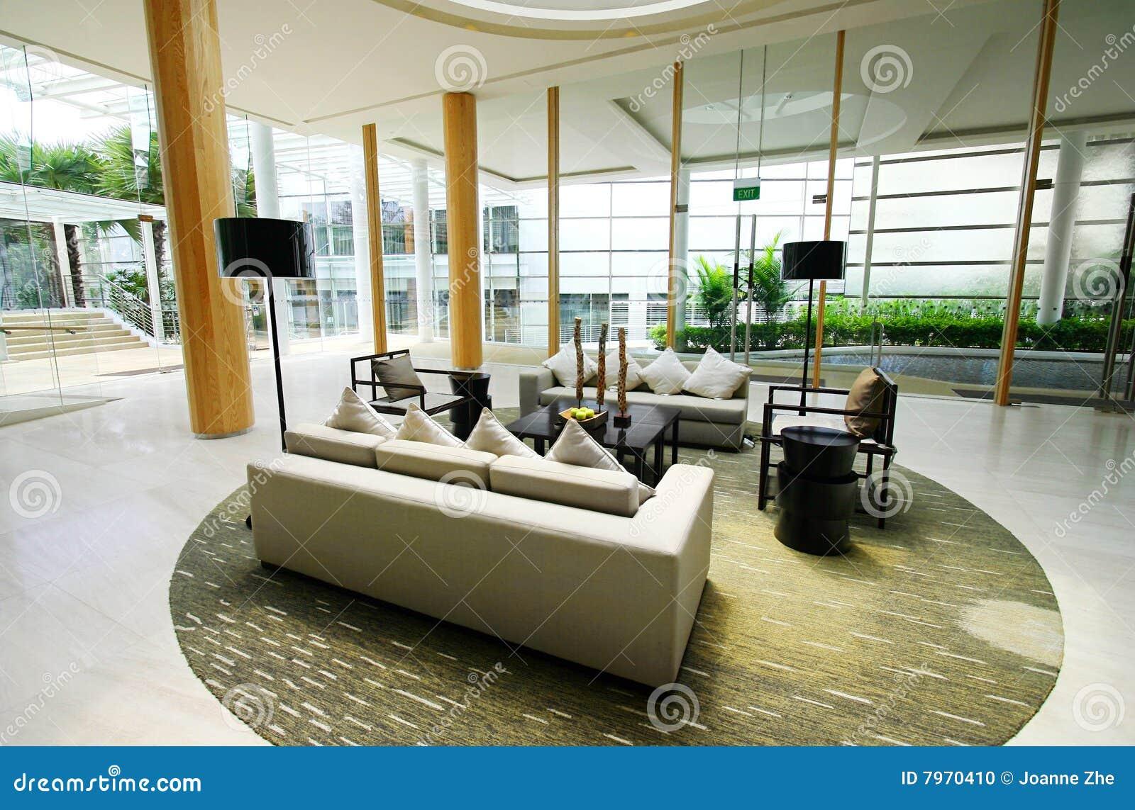 Interiores de gama alta do hotel foto de stock imagem - Sofas alta gama ...