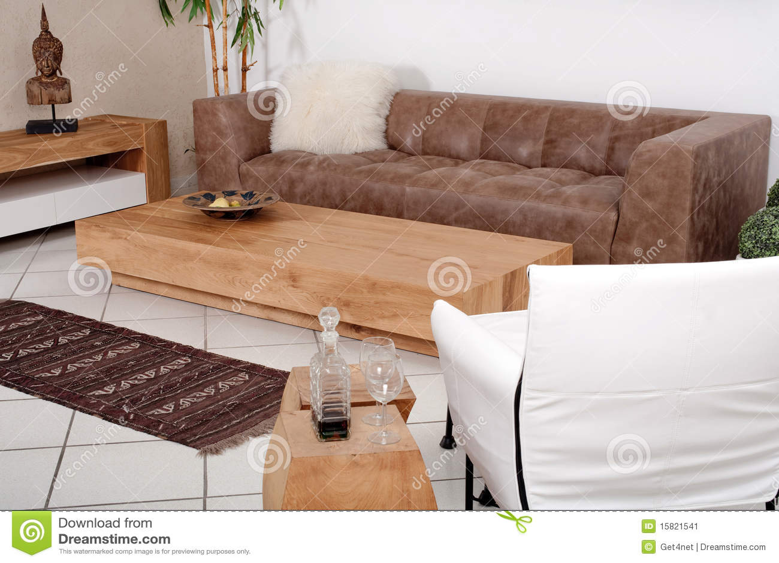 Interiores modernos lujosos imagen de archivo imagen - Muebles de interior modernos ...