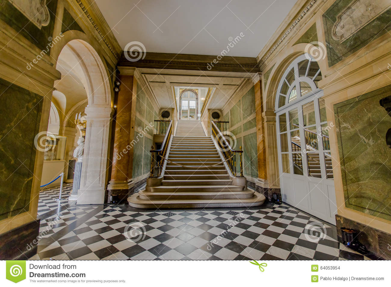 Interiors of chateau de versailles near paris editorial for Interior site