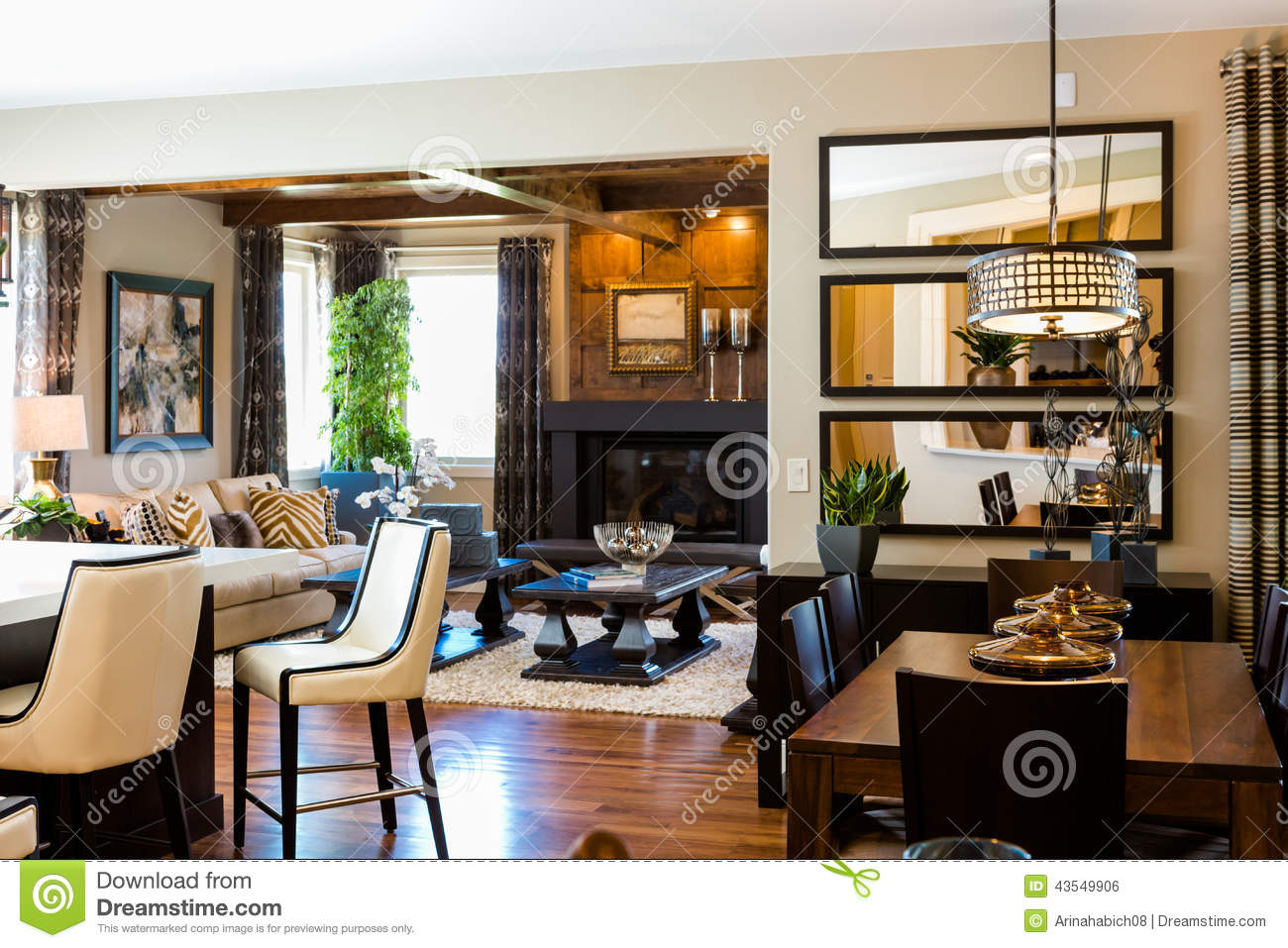 Home Interior Design Usa Interiors Editorial Photo Image