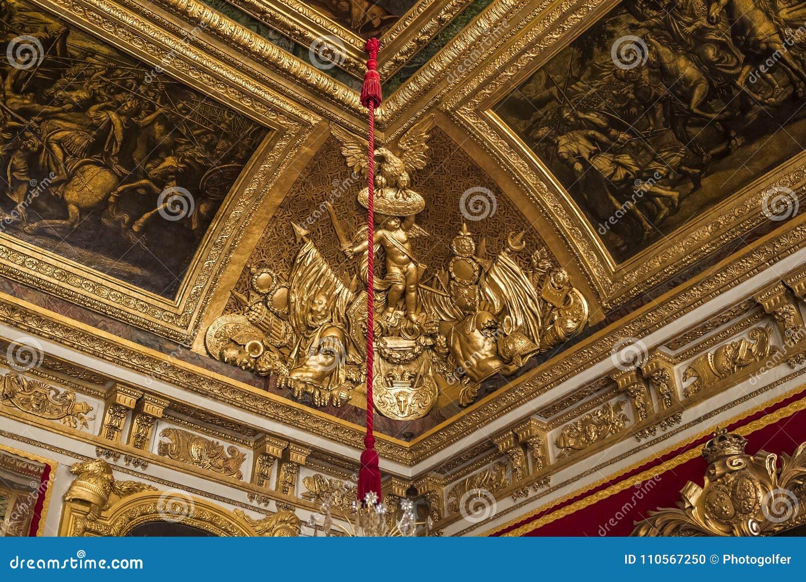 Style architecture chateau de versailles