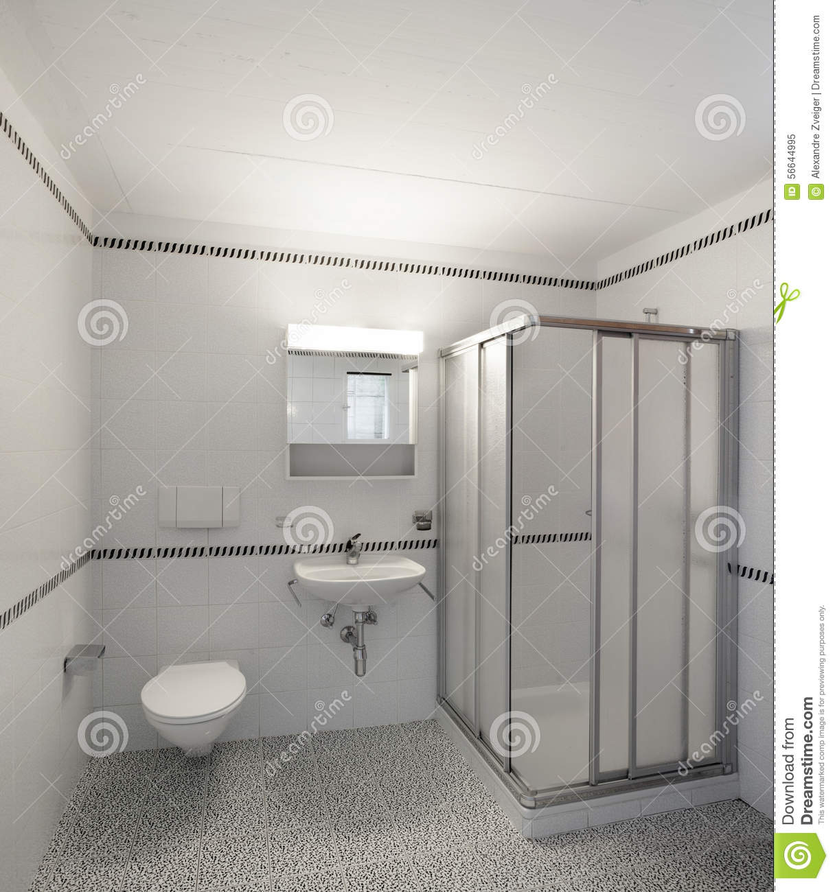 Wonderful Empty Apartment Bathroom View Of Home With Green Garden