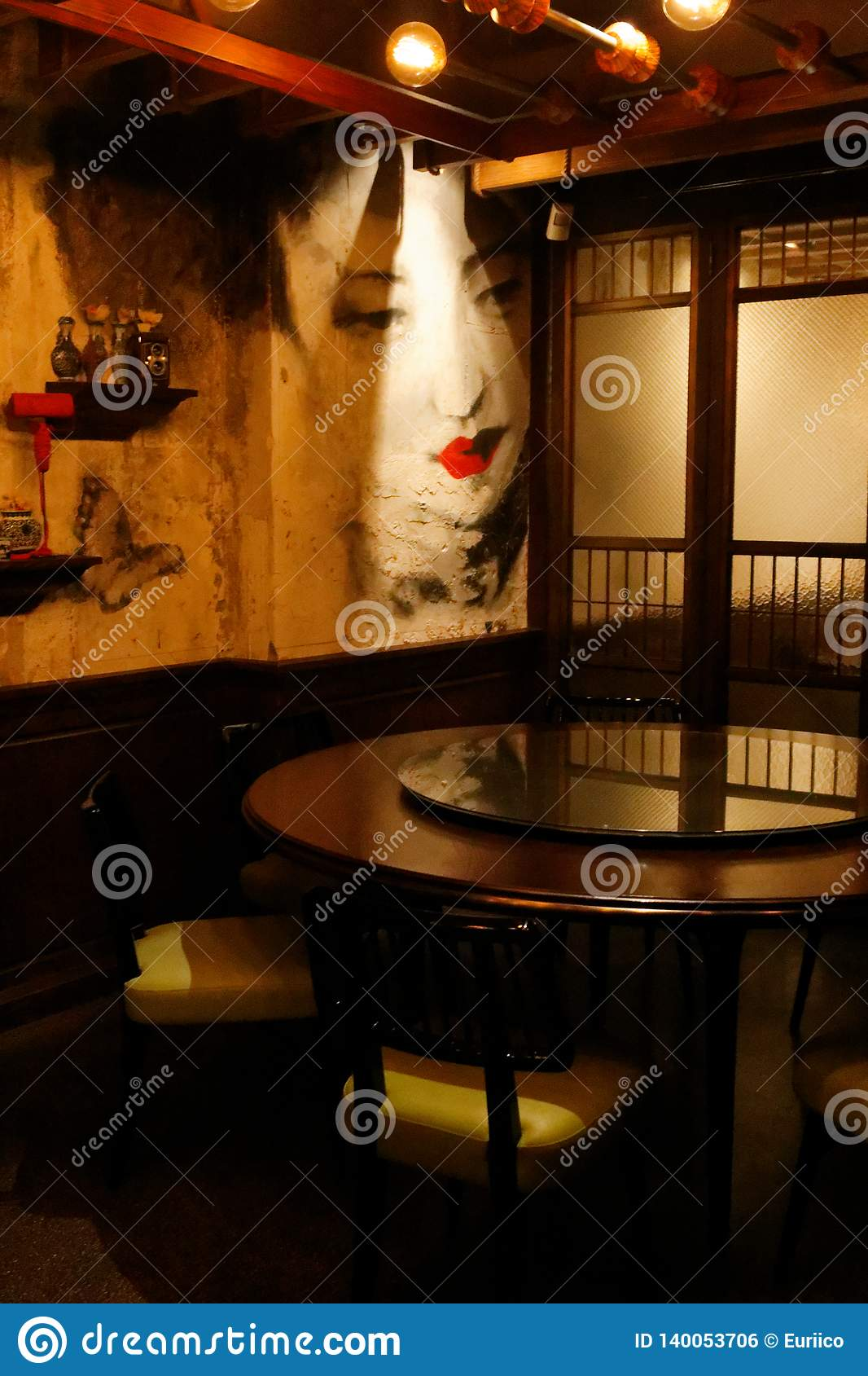 Interiors Of Mott 32 Restaurant Hongkong Background Editorial Photo Image Of Cooked Fresh 140053706