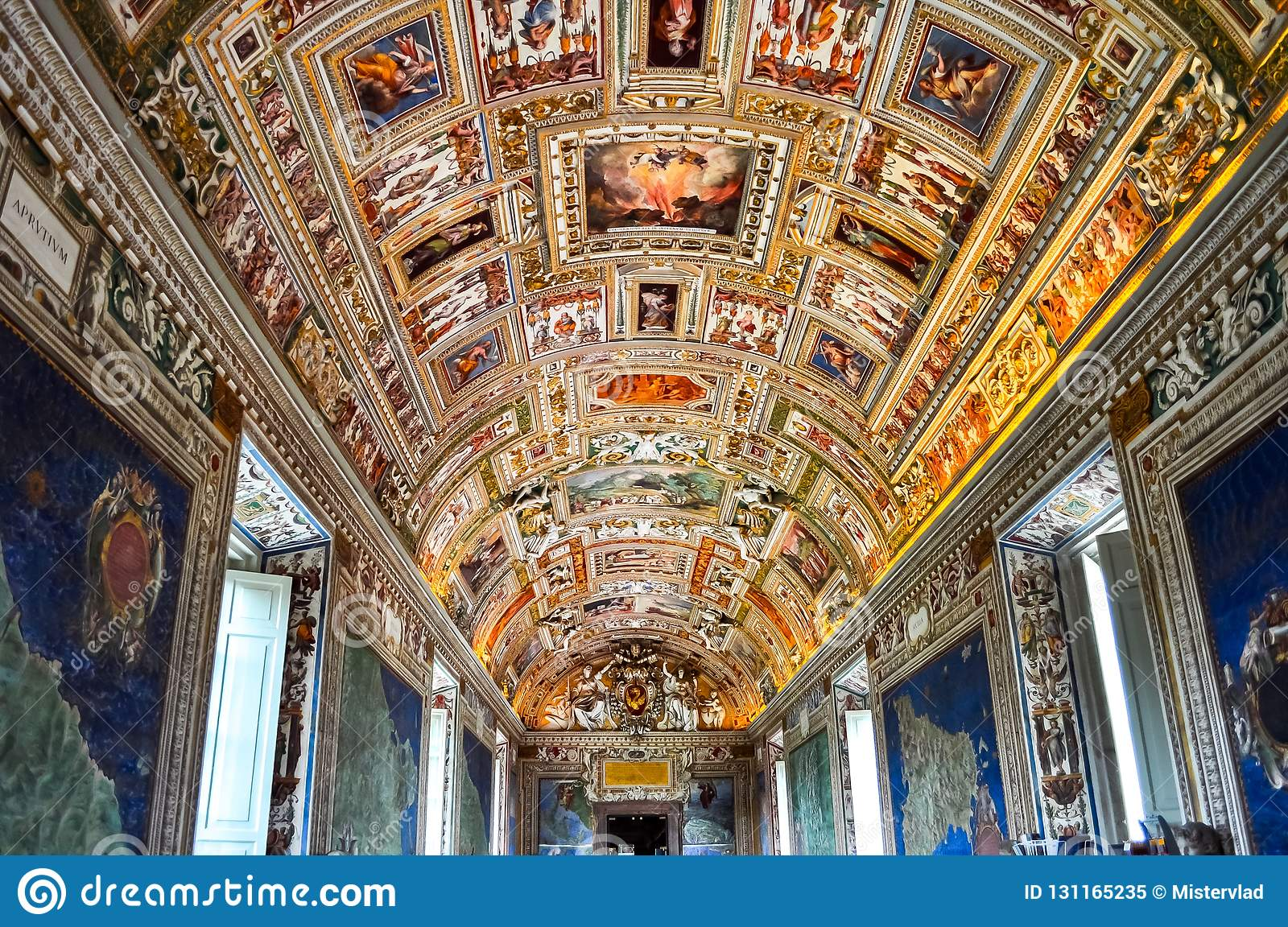 Interiors of Vatican museum