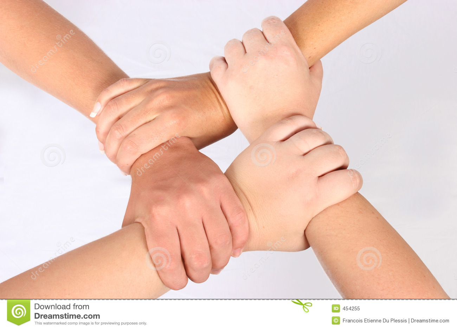 Download Interlocked hands stock image. Image of people, team, play - 454255