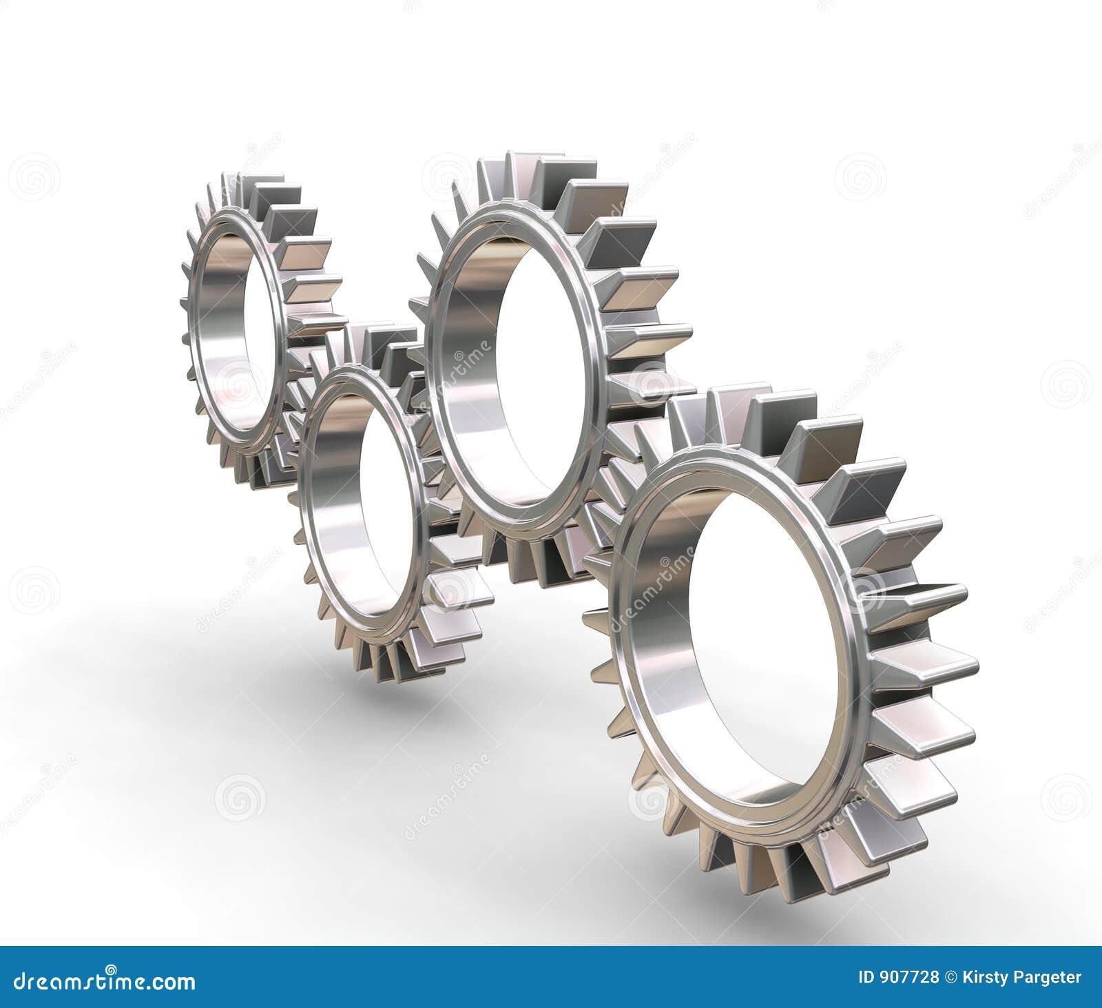 Interlocking för kugghjul