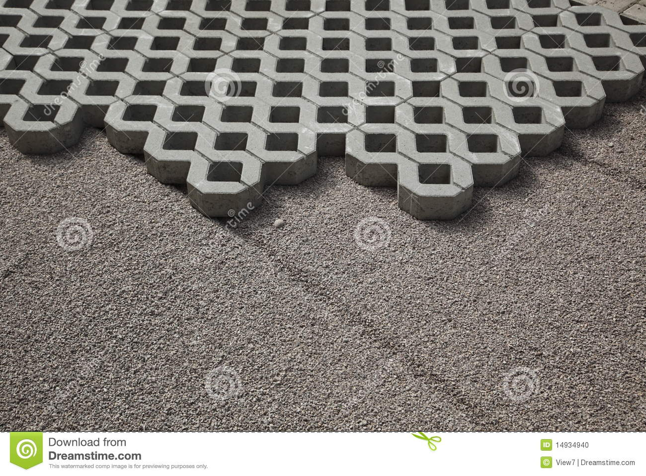Interlocking Paving Blocks Stock Photo - Image: 14934940