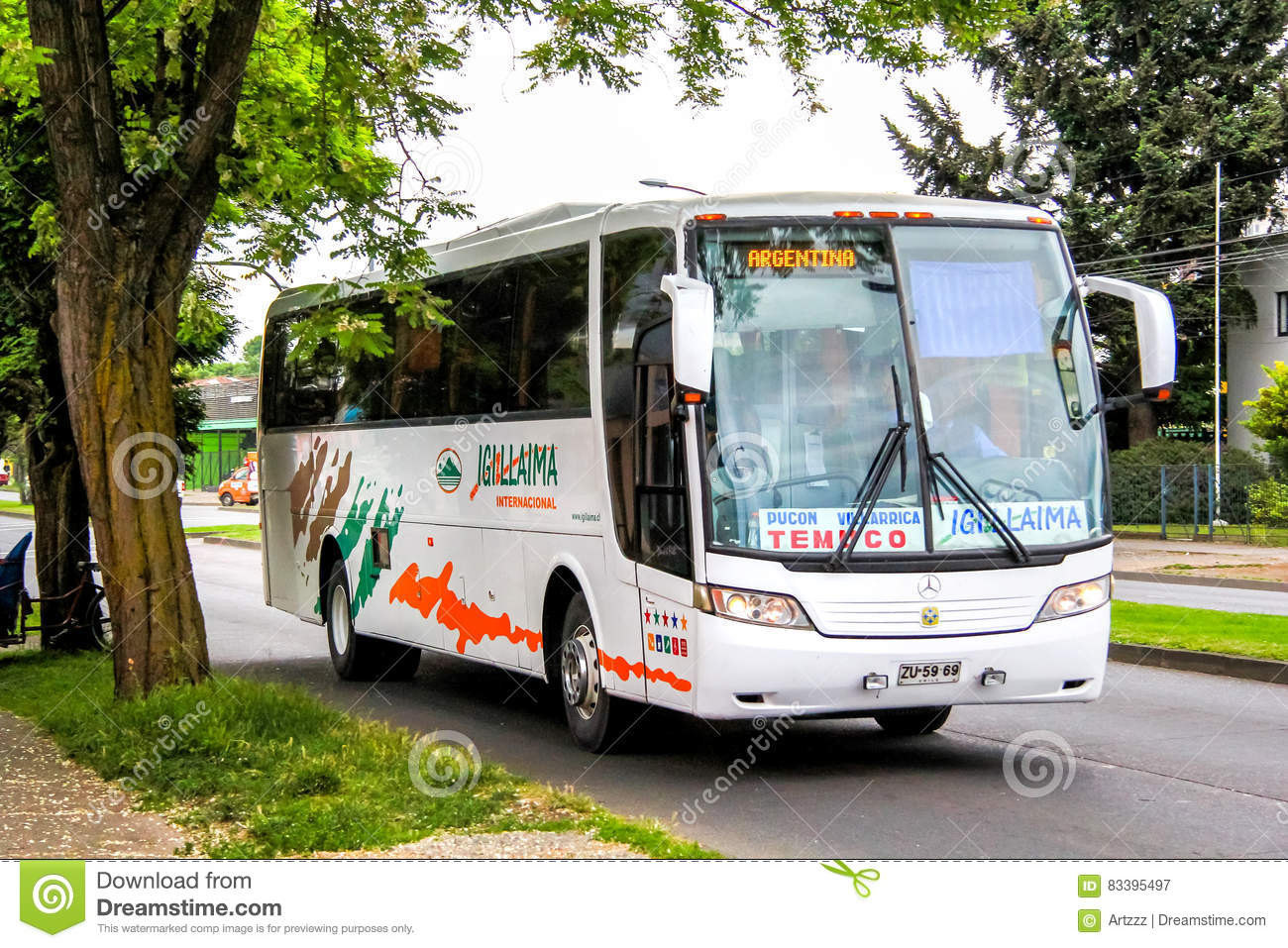 Interlokale bus Busscar