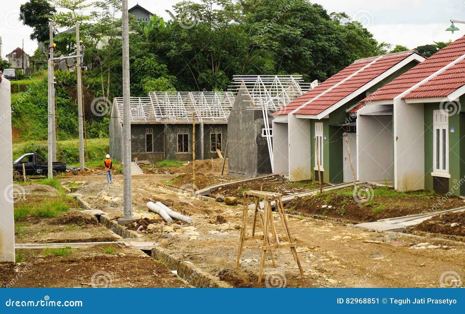 Intermediate Real Estate Project Photo Taken In Bogor