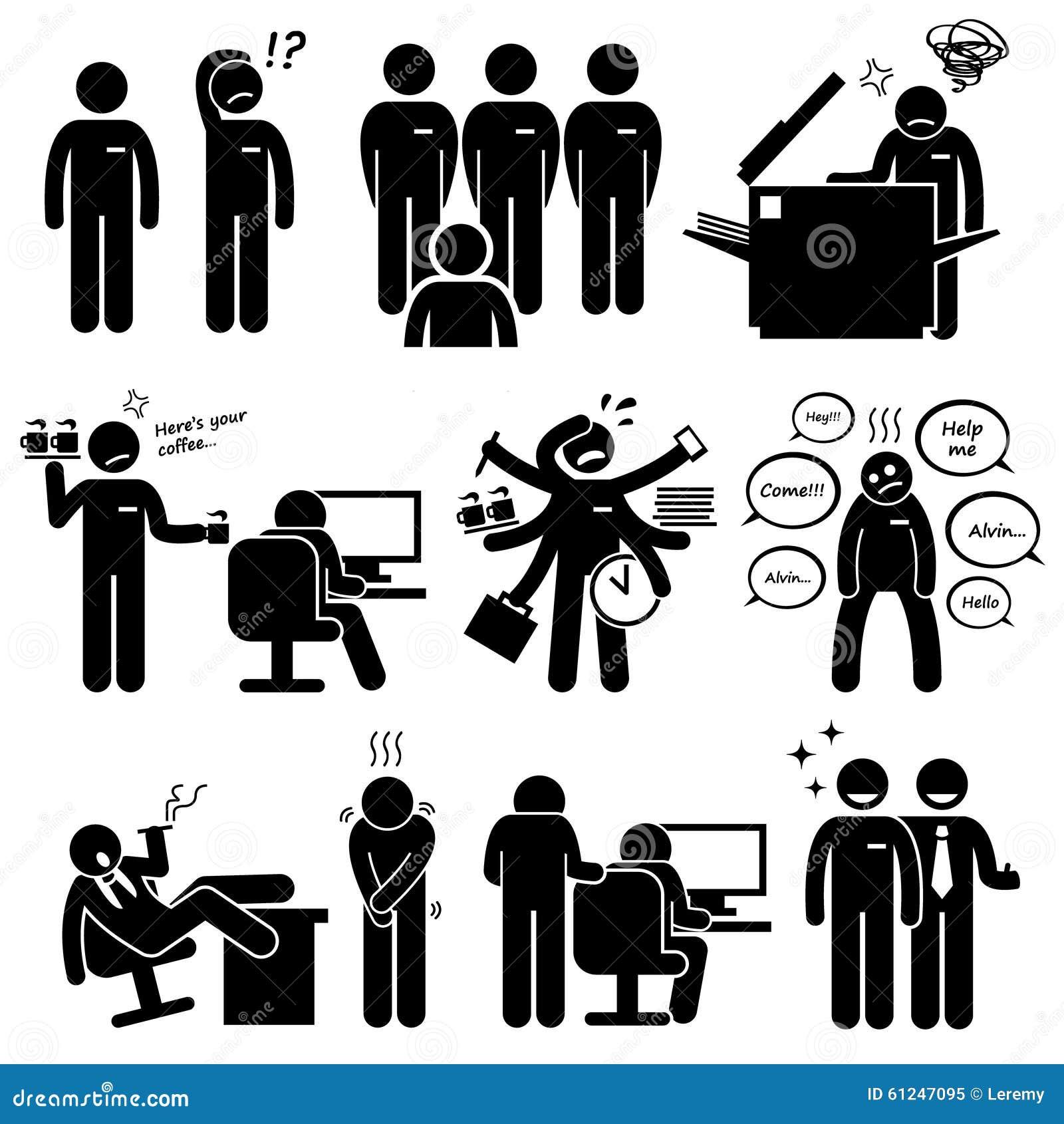 intern internship new employee staff clipart stock vector rh dreamstime com school staff clipart clipart staff training