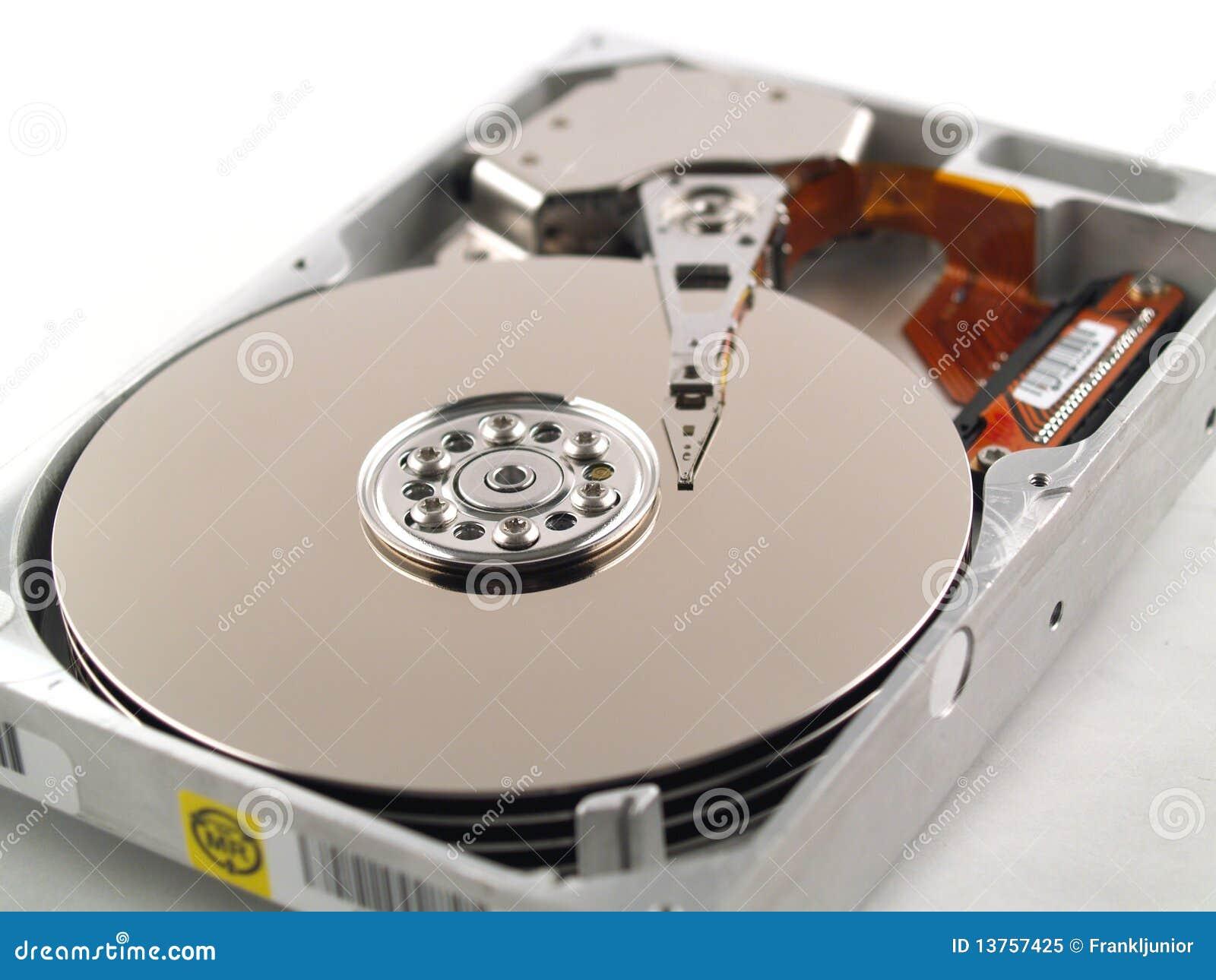 how to open an internal hard drive