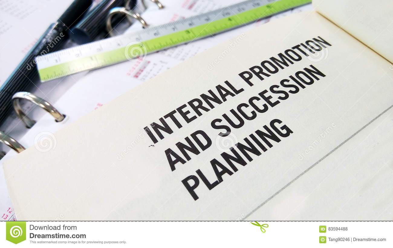 internal promotion and succession planning stock photo image of