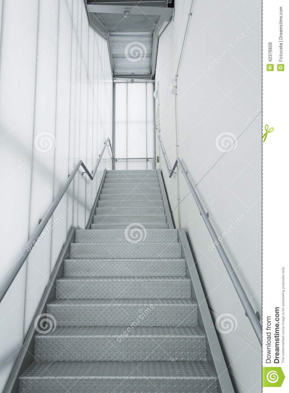 Internal Steel Stairs Stock Photo Image Of Interior