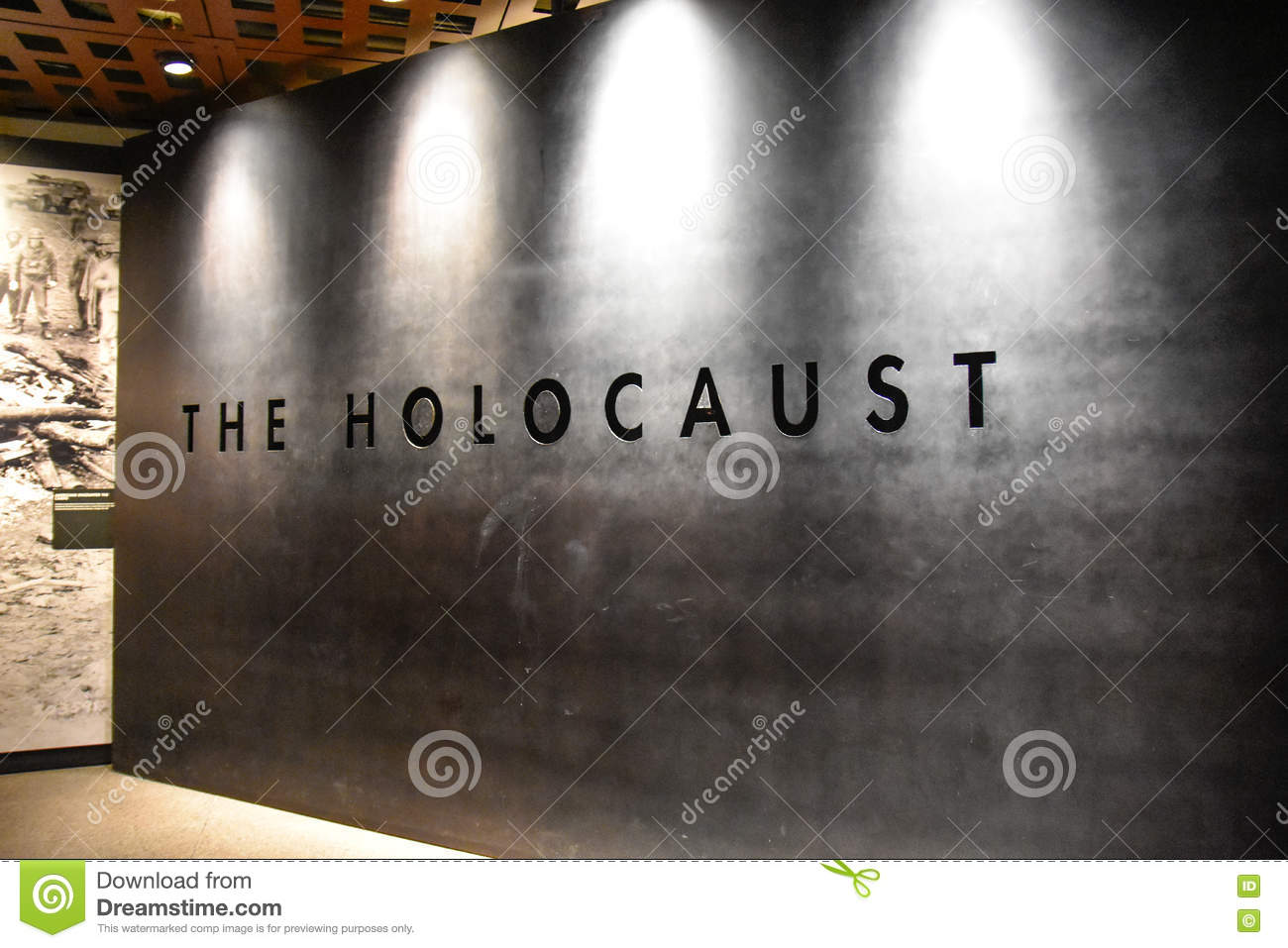 Internal View Of The Holocaust Memorial Museum In Washington DC - Concentration camp museums in usa