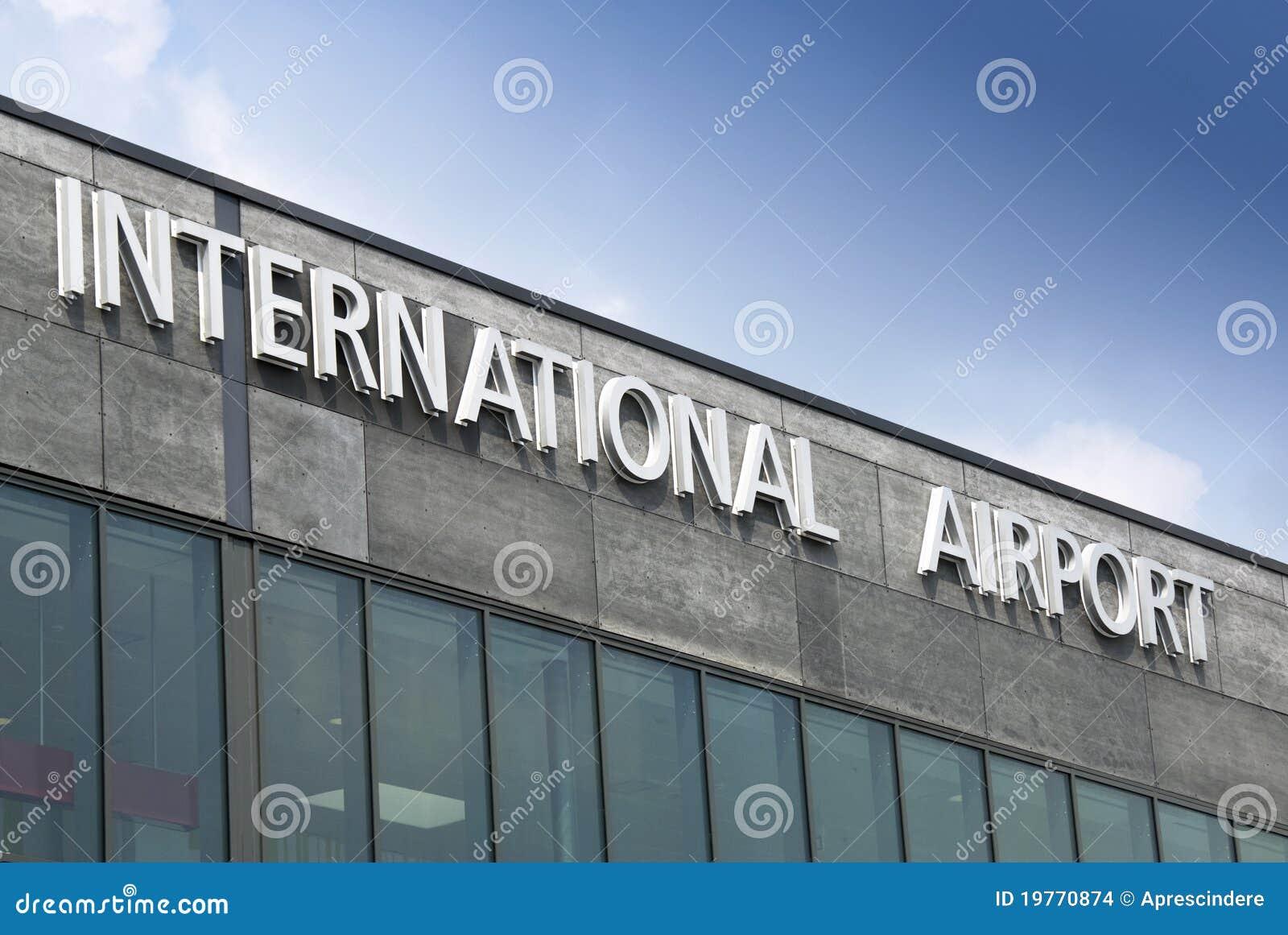 Internationaal luchthaventeken