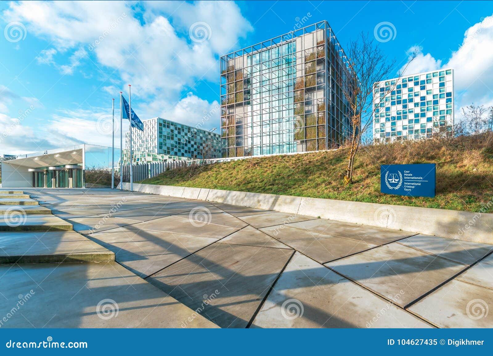 Download Internationaal Strafrechtergebouw Redactionele Afbeelding - Afbeelding bestaande uit oorlog, holland: 104627435