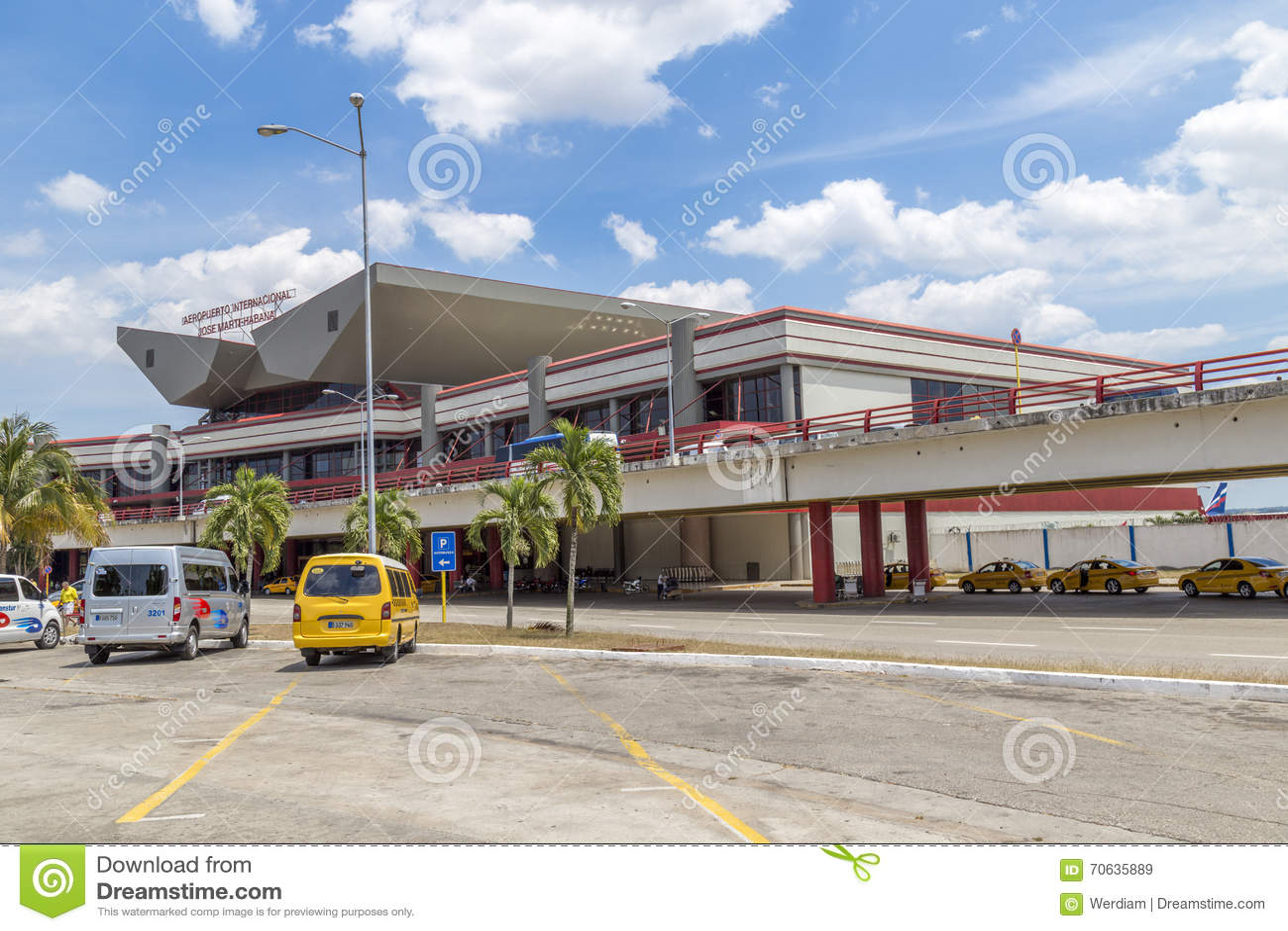Aeroporto Havana Arrivi : International airport jose marti havana cuba editorial stock