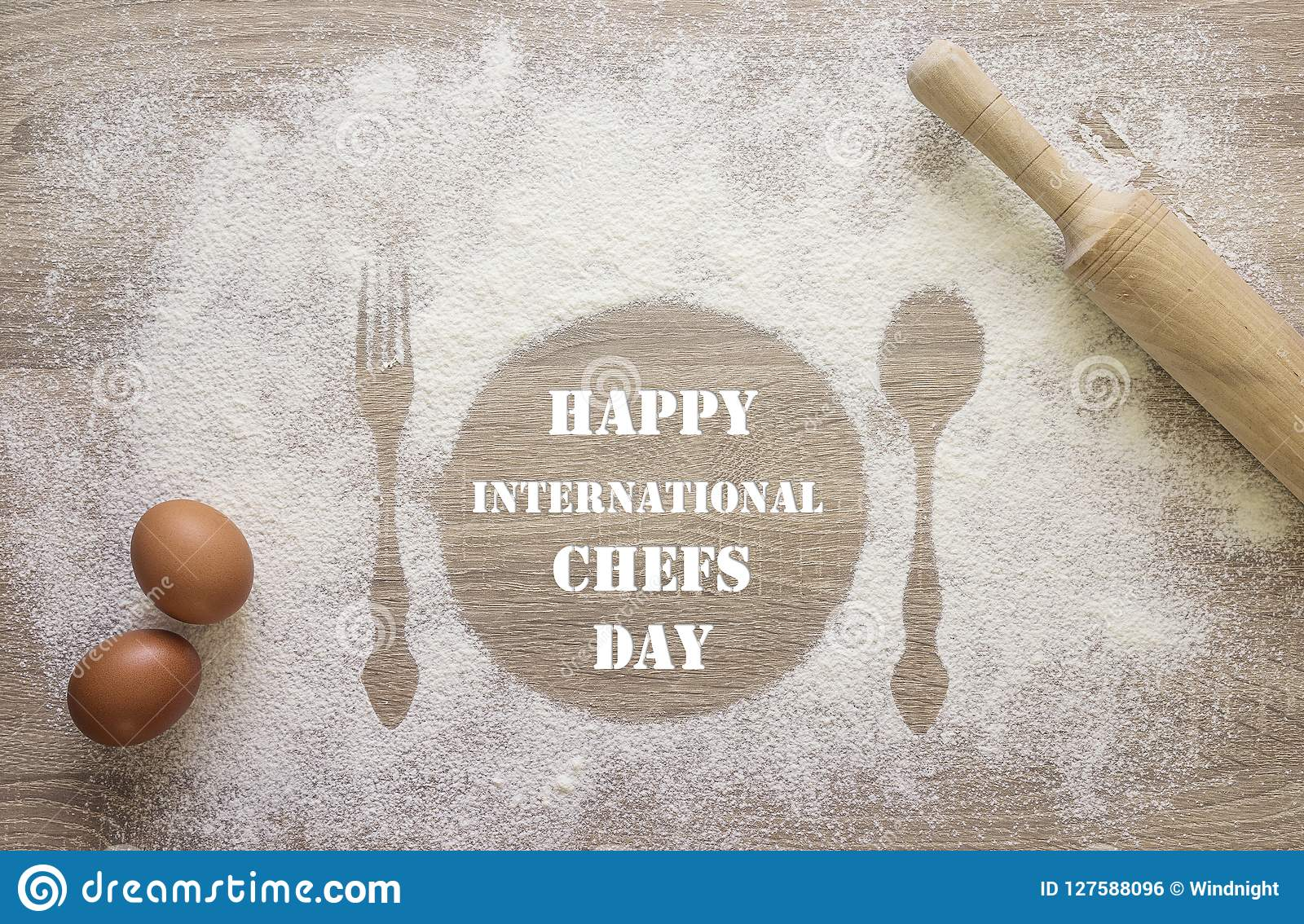 International Chef Day Greeting Card Prints Of Dish Fork And S