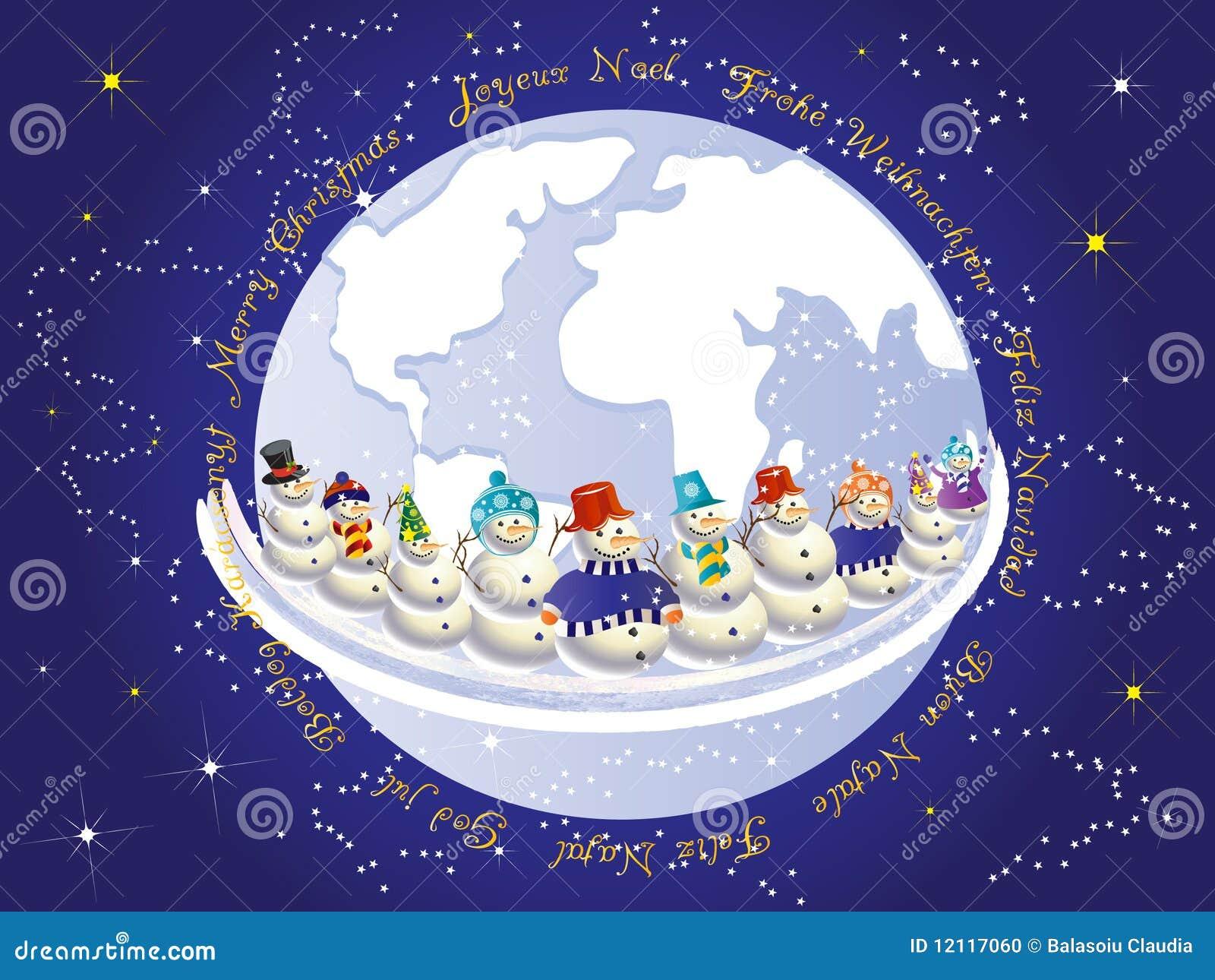 International Christmas Stock Photo - Image: 12117060