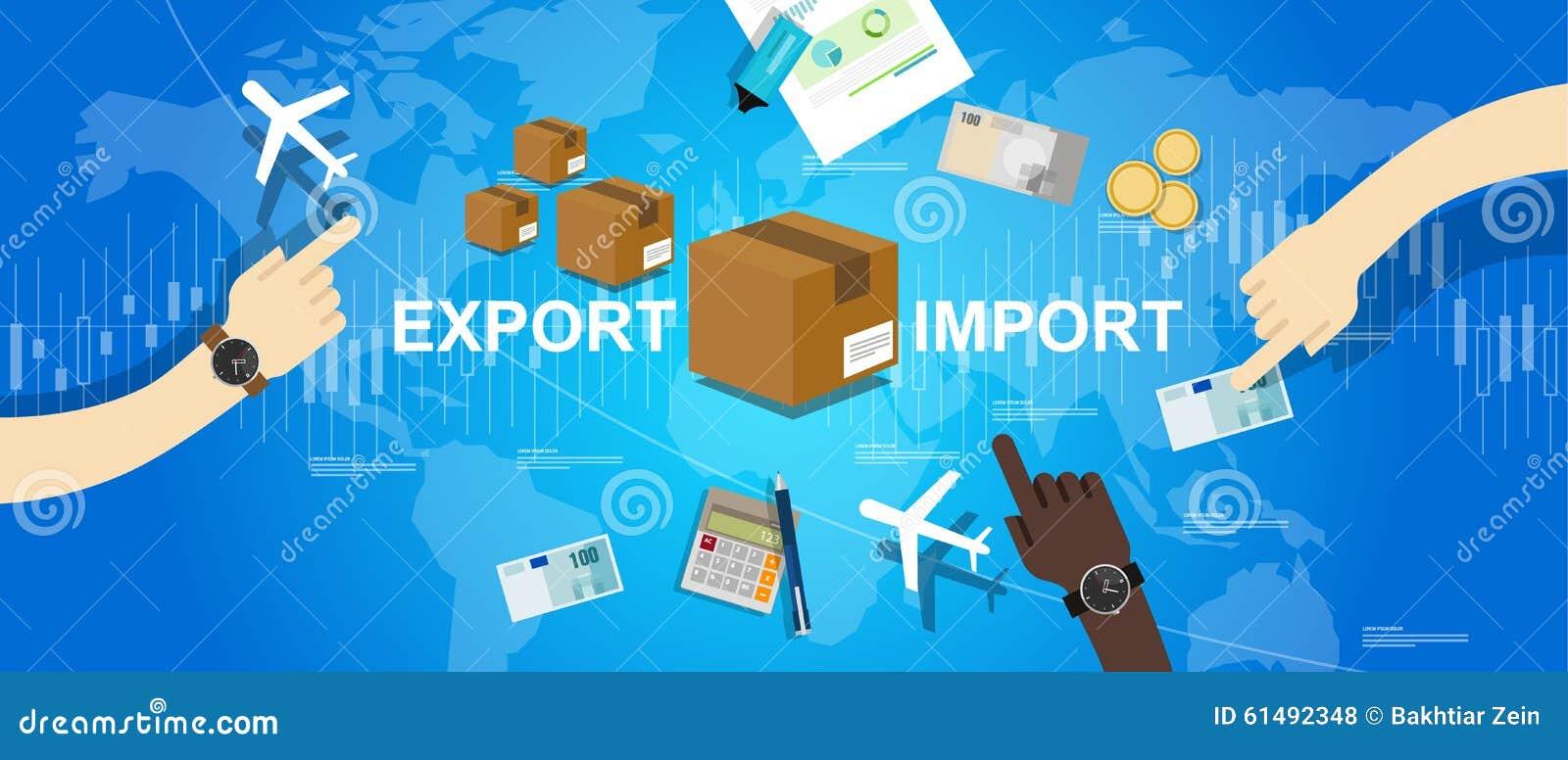 International comercial global del mercado del mapa del mundo de la importación de la exportación