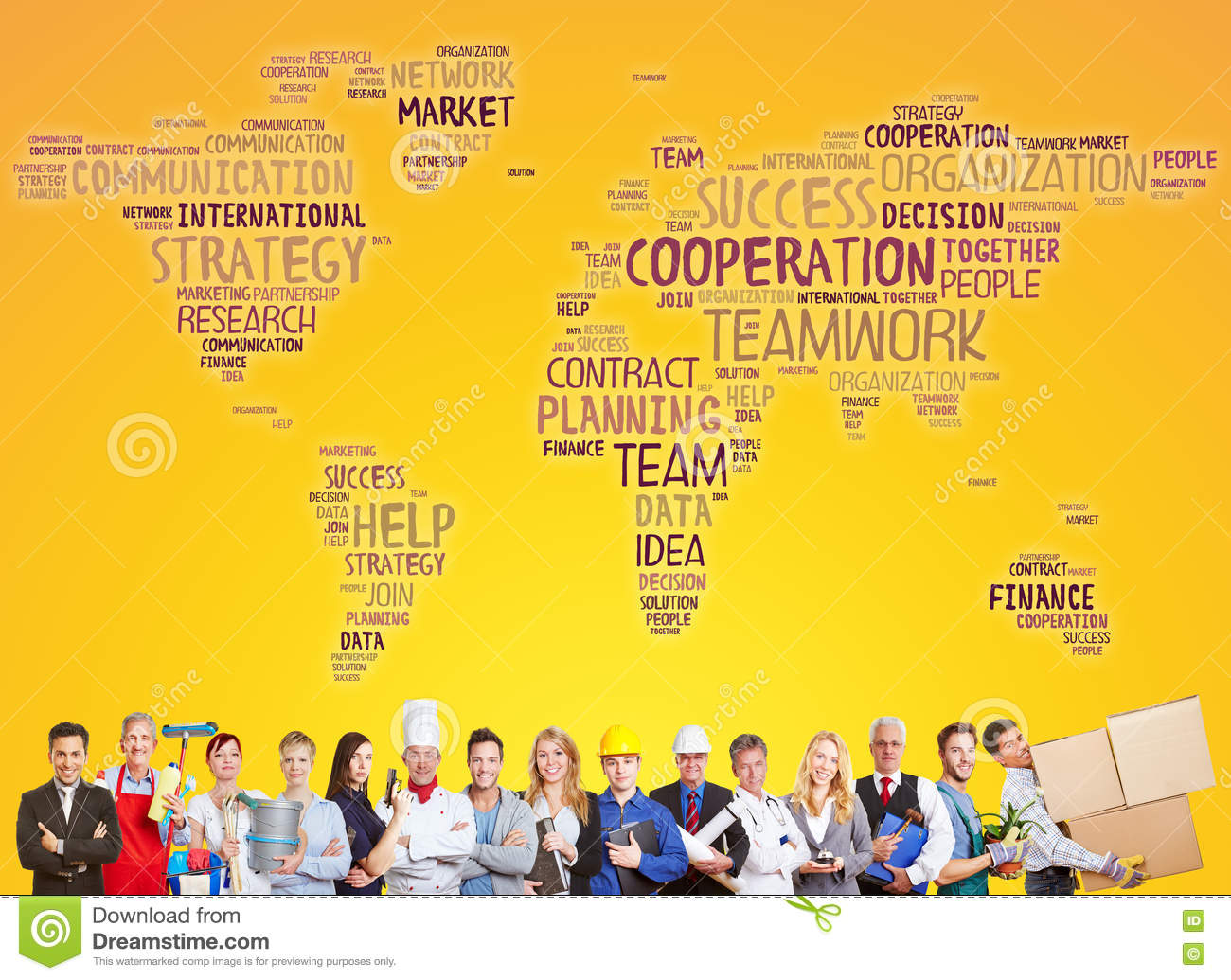 International cooperation and success team
