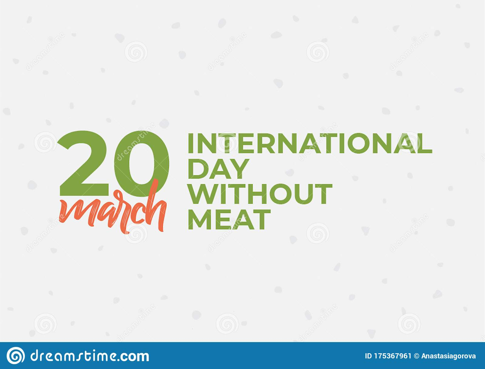International Day Without Meat Healthy Vegetarian Food Stock Illustration Illustration Of Meat Health 175367961