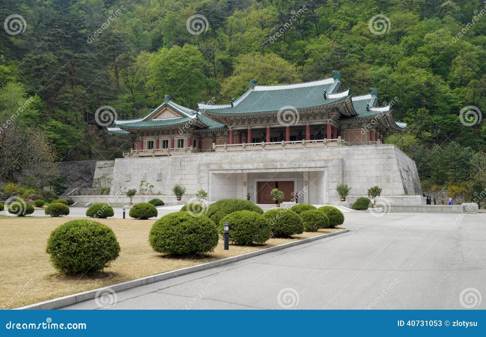 International Friendship Exhibition centre in Myohyang, DPRK (North Korea)