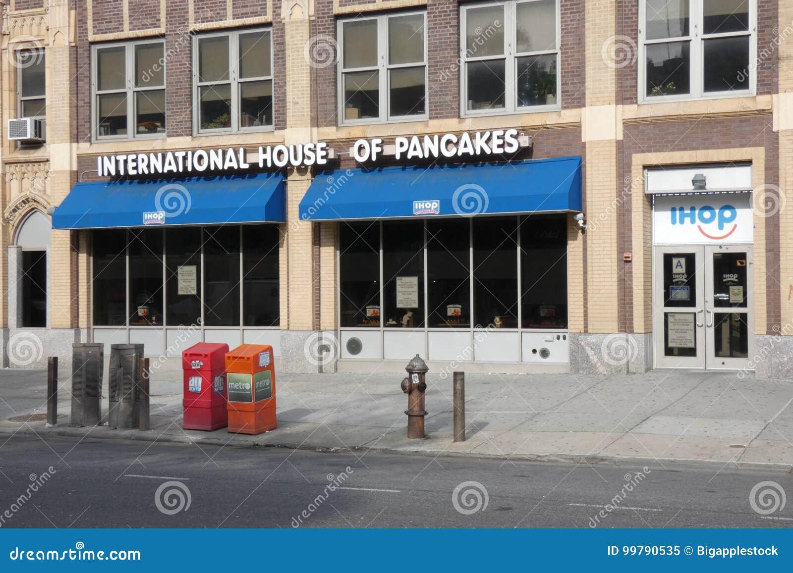 International House Of Pancakes Editorial Image - Image of pancake