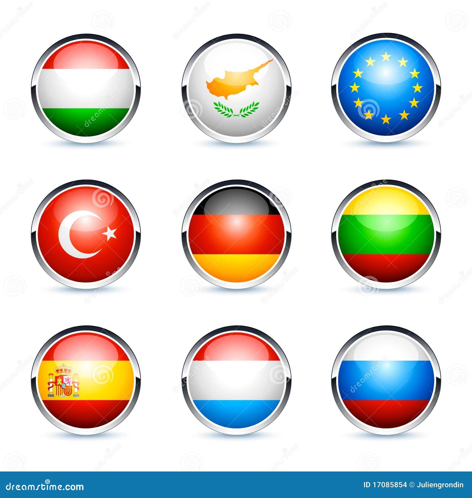 International kennzeichnet Ikonen