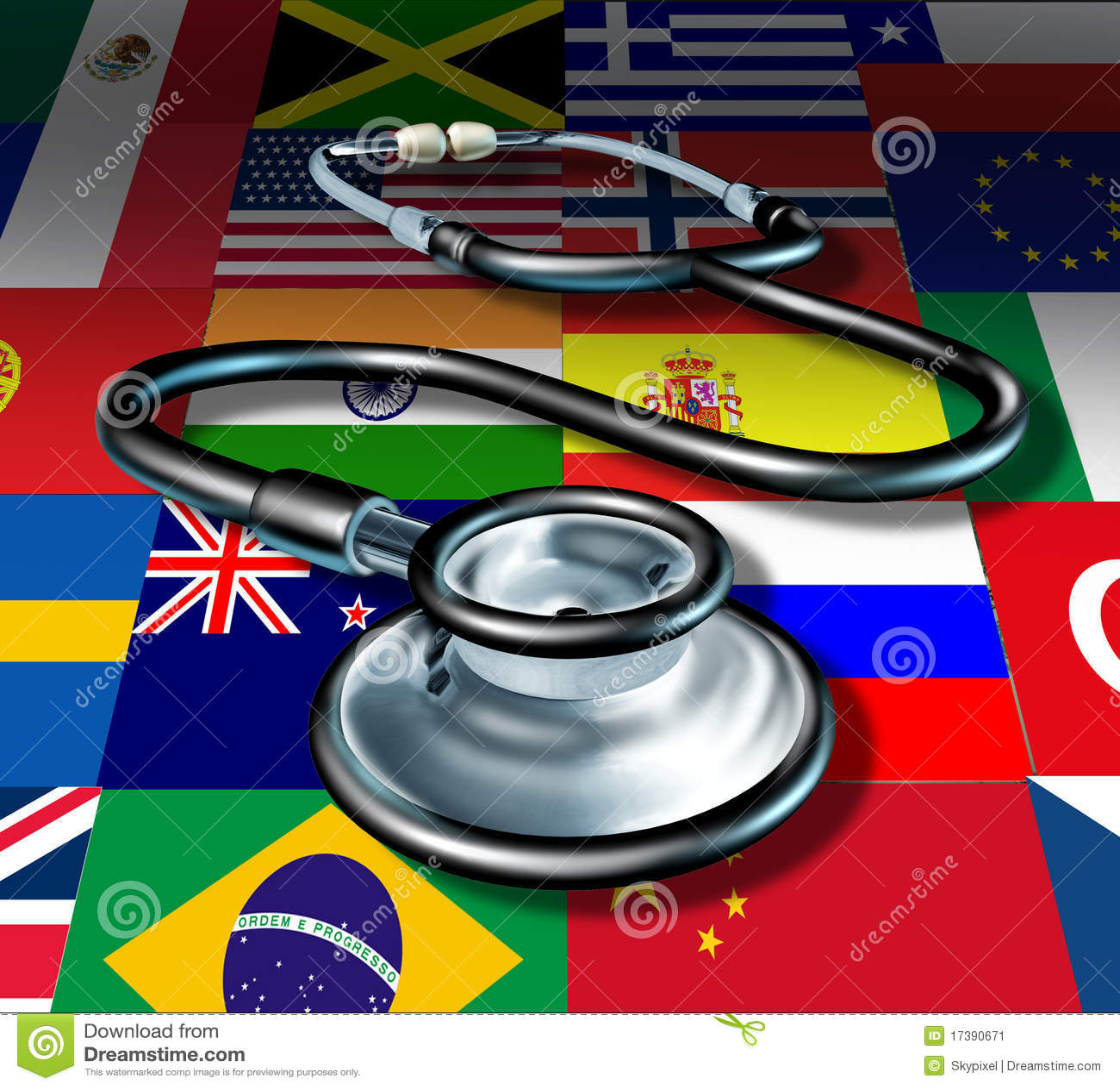 International medicine stethoscope healthcare
