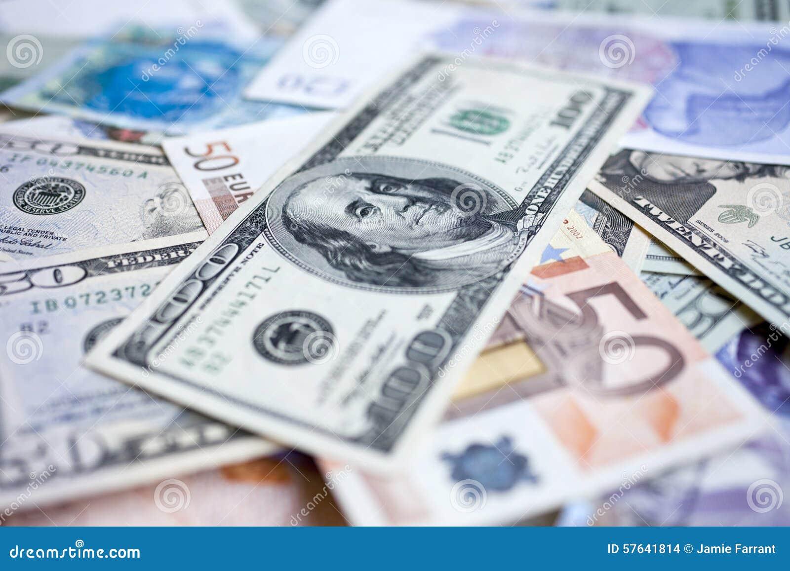 International money pile stock photo. Image of euro, financial - 57641814