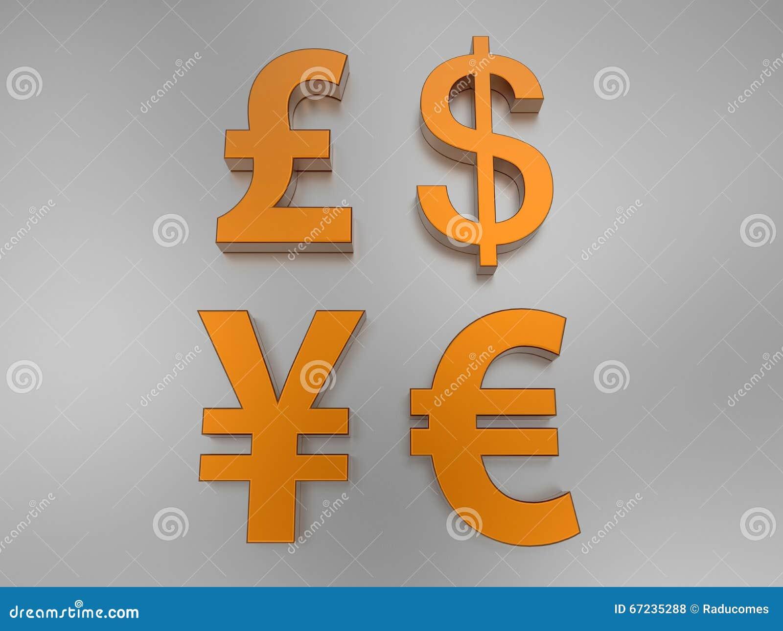International money symbols stock illustration illustration of international money symbols buycottarizona Gallery
