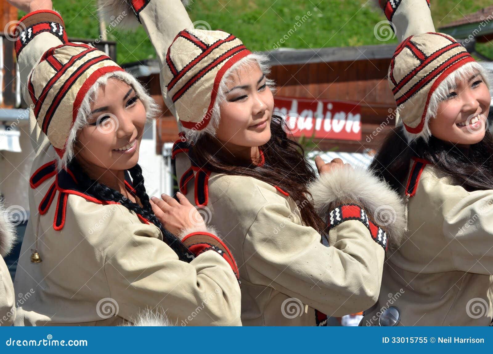 International Mountain Dance Festival Editorial Image