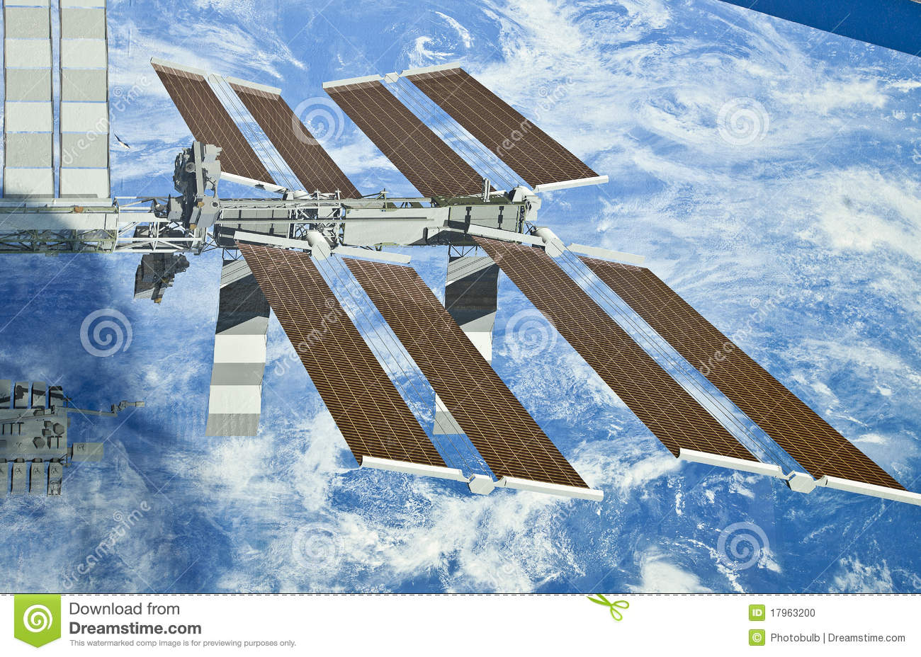 solar powered space station - photo #27