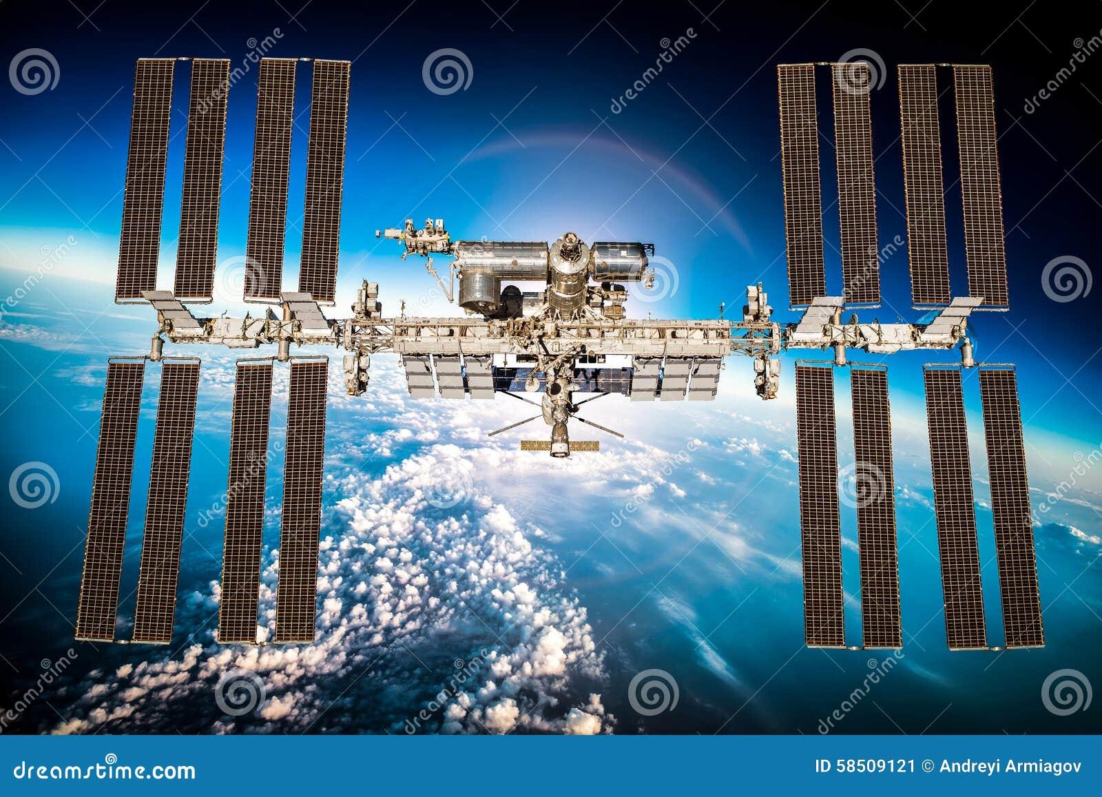 International Space Station Stock Photo - Image: 58509121