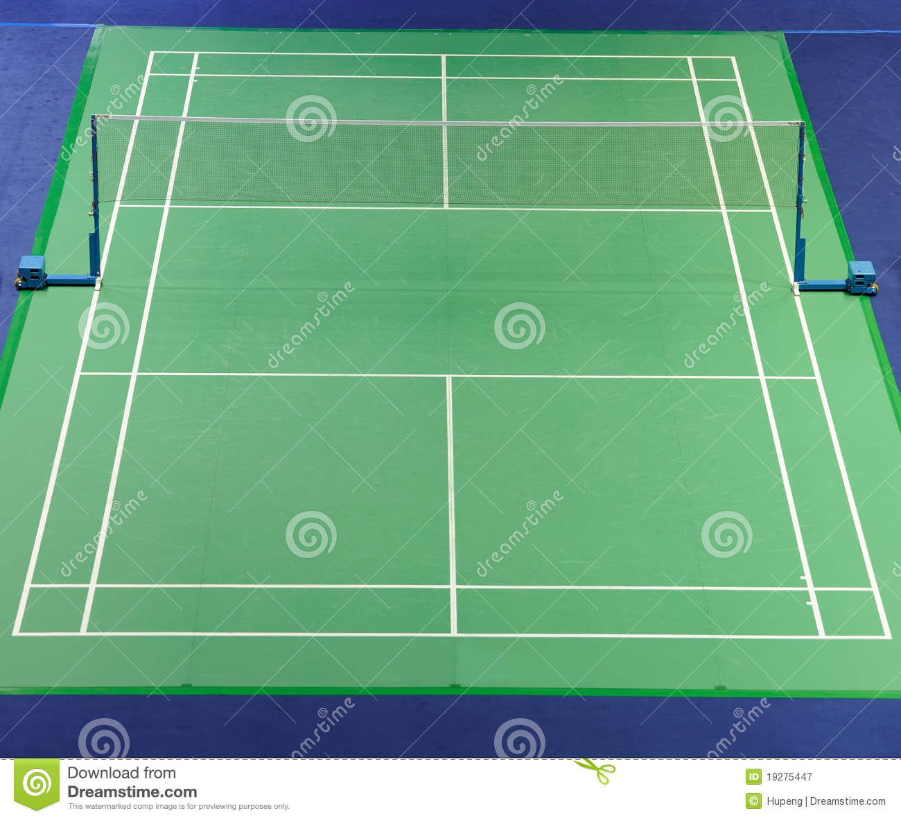 how to build a badminton court