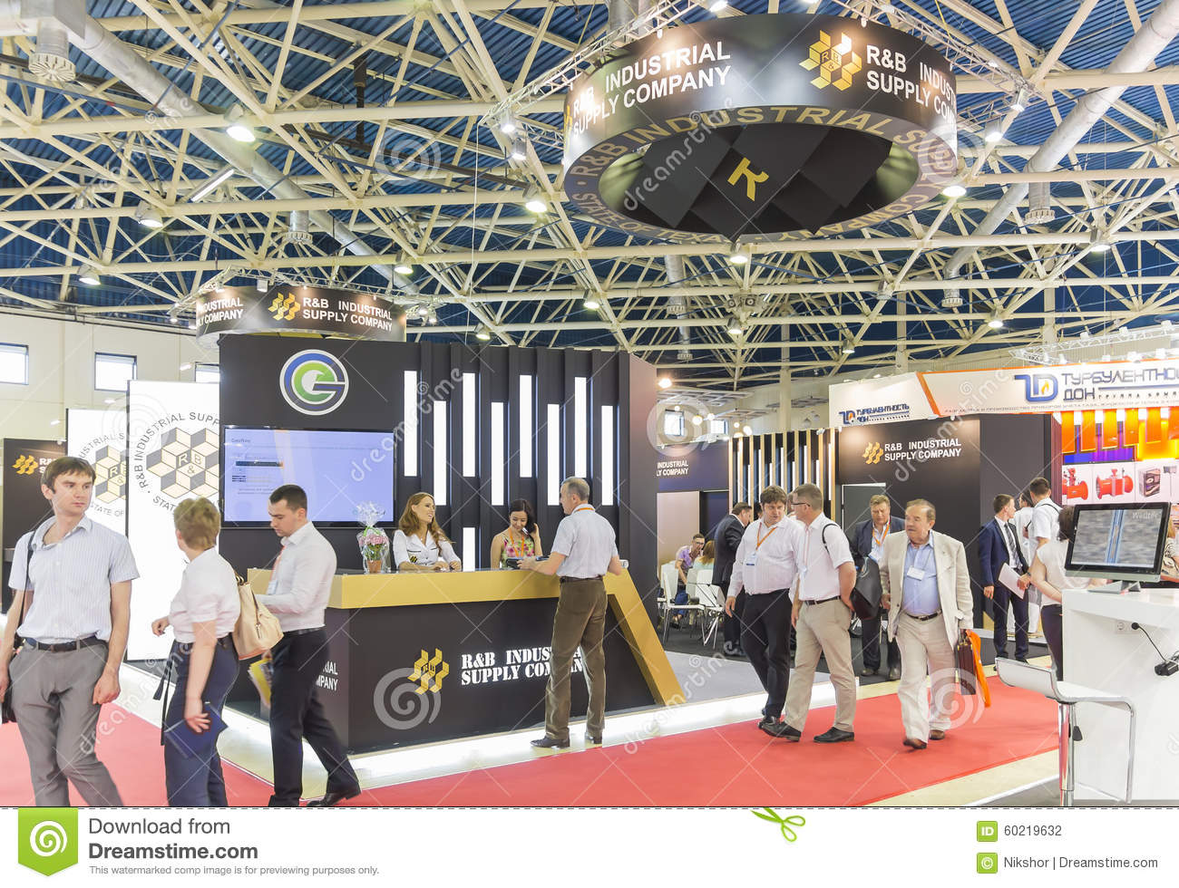 International trade fair mioge editorial photography for Industrial distribution group