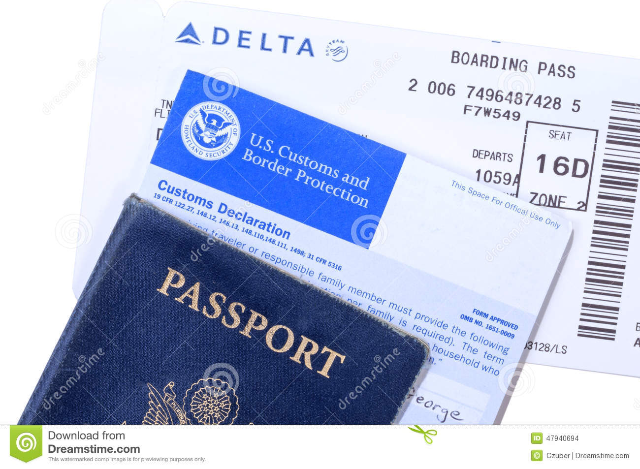 International travel documents editorial stock image for Documents you need for passport