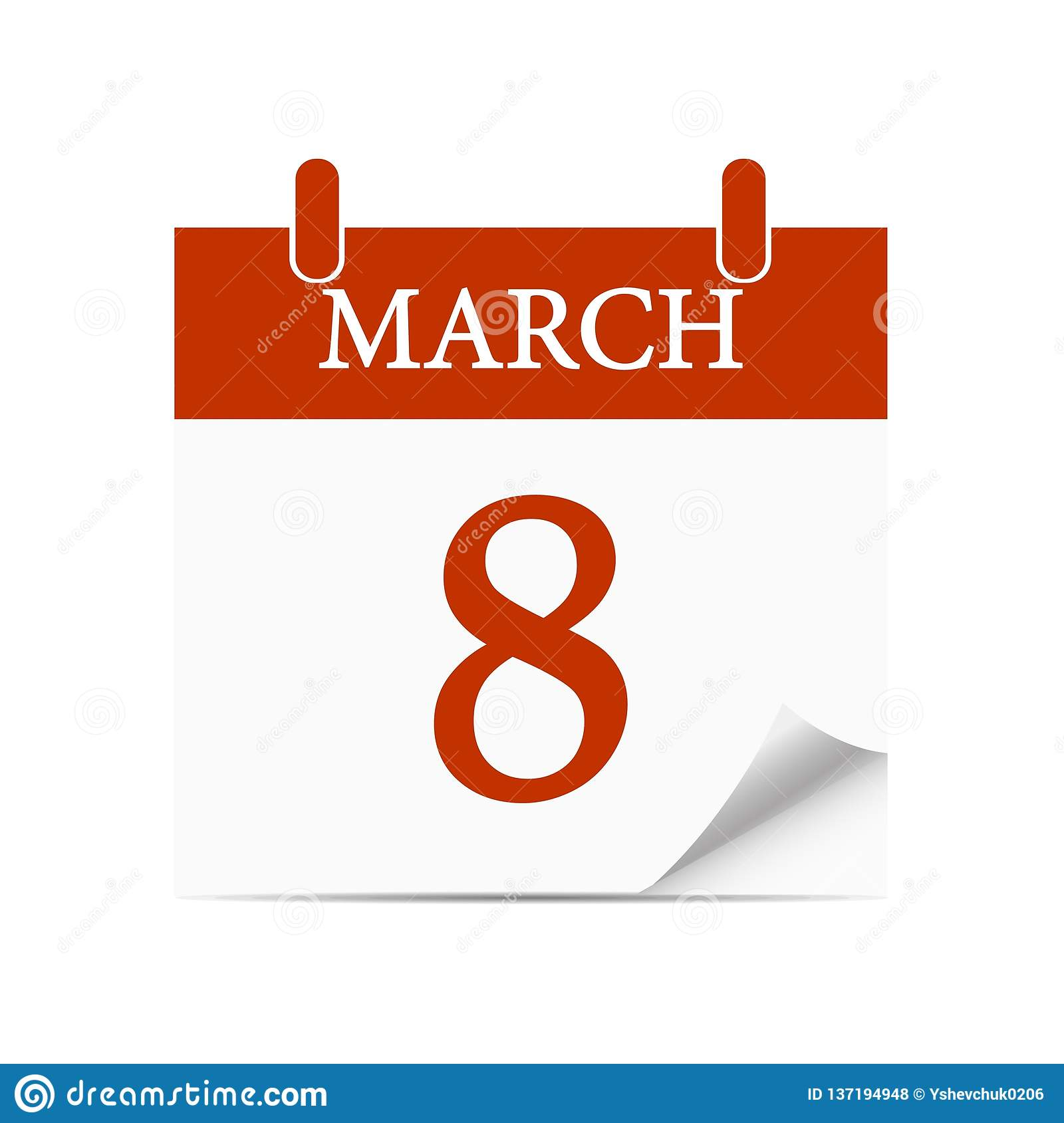 International Womens Day. White background. Vector illustration