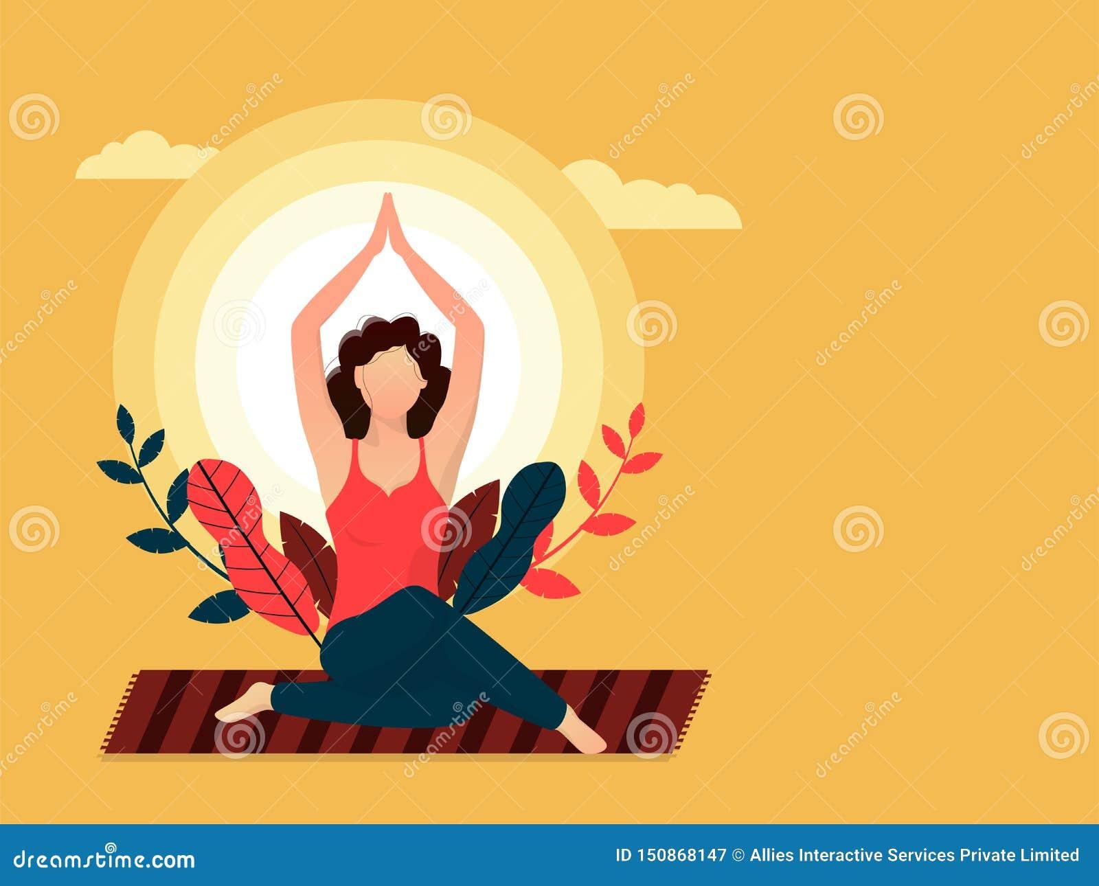 Yoga Banner Stock Illustrations 23 248 Yoga Banner Stock Illustrations Vectors Clipart Dreamstime