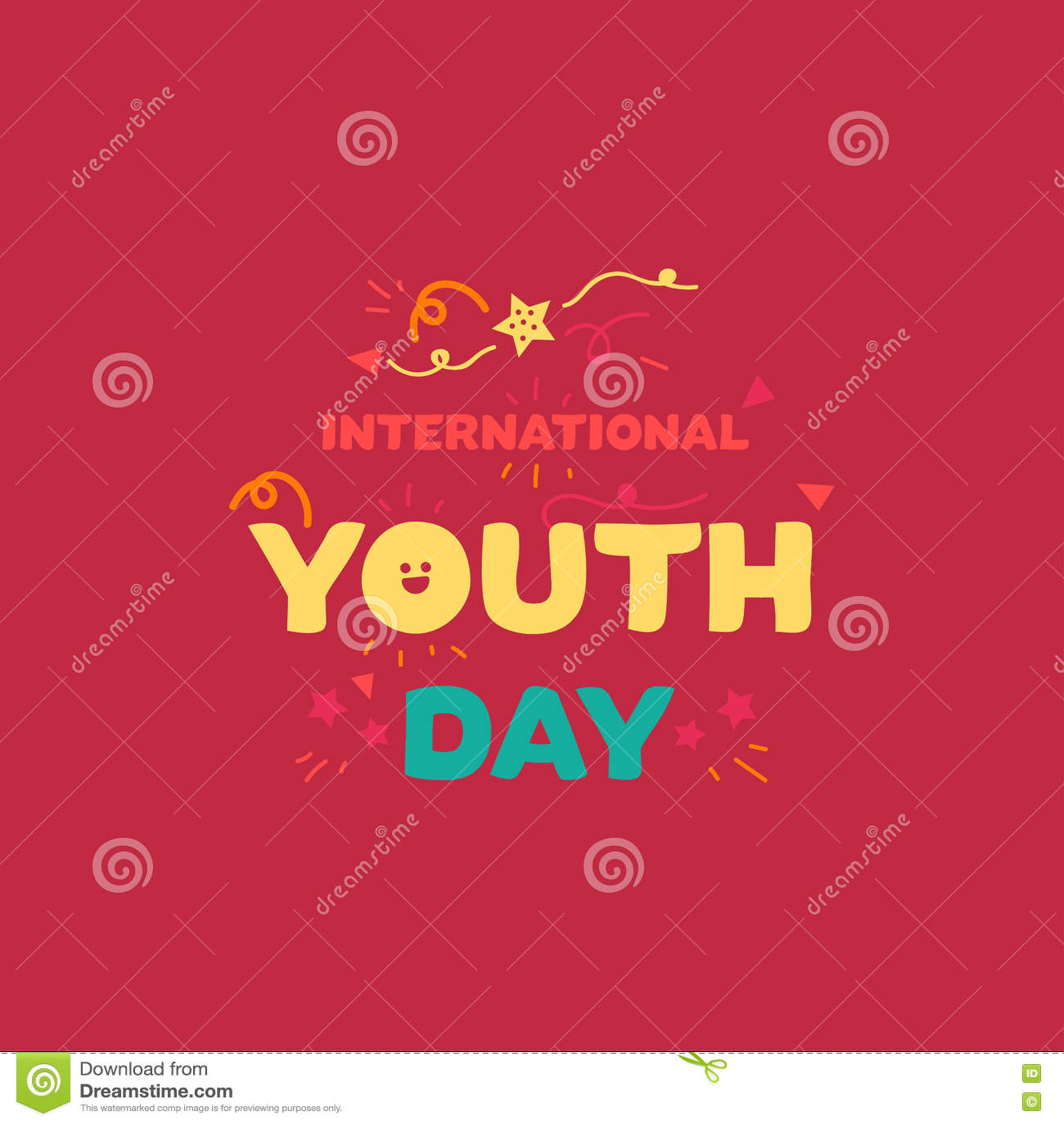 International youth day banner stock illustration illustration of download international youth day banner stock illustration illustration of letter happy 71863053 stopboris Gallery