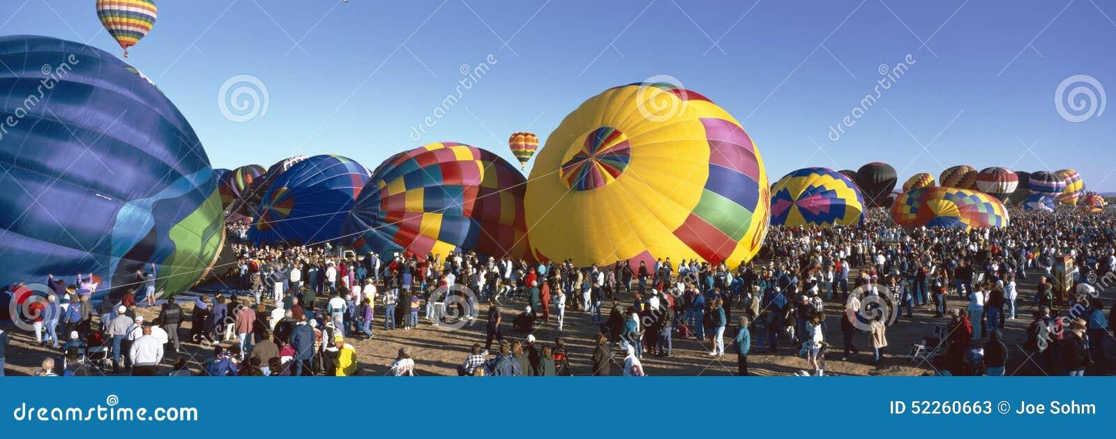 Internationale de Ballonfiesta van 25ste Albuquerque, New Mexico