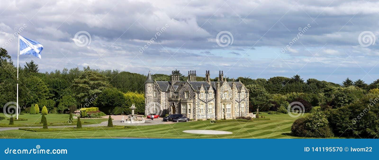 Internationale het Golfverbindingen van Donald Trump Balmedie, Aberdeenshire, Schotland